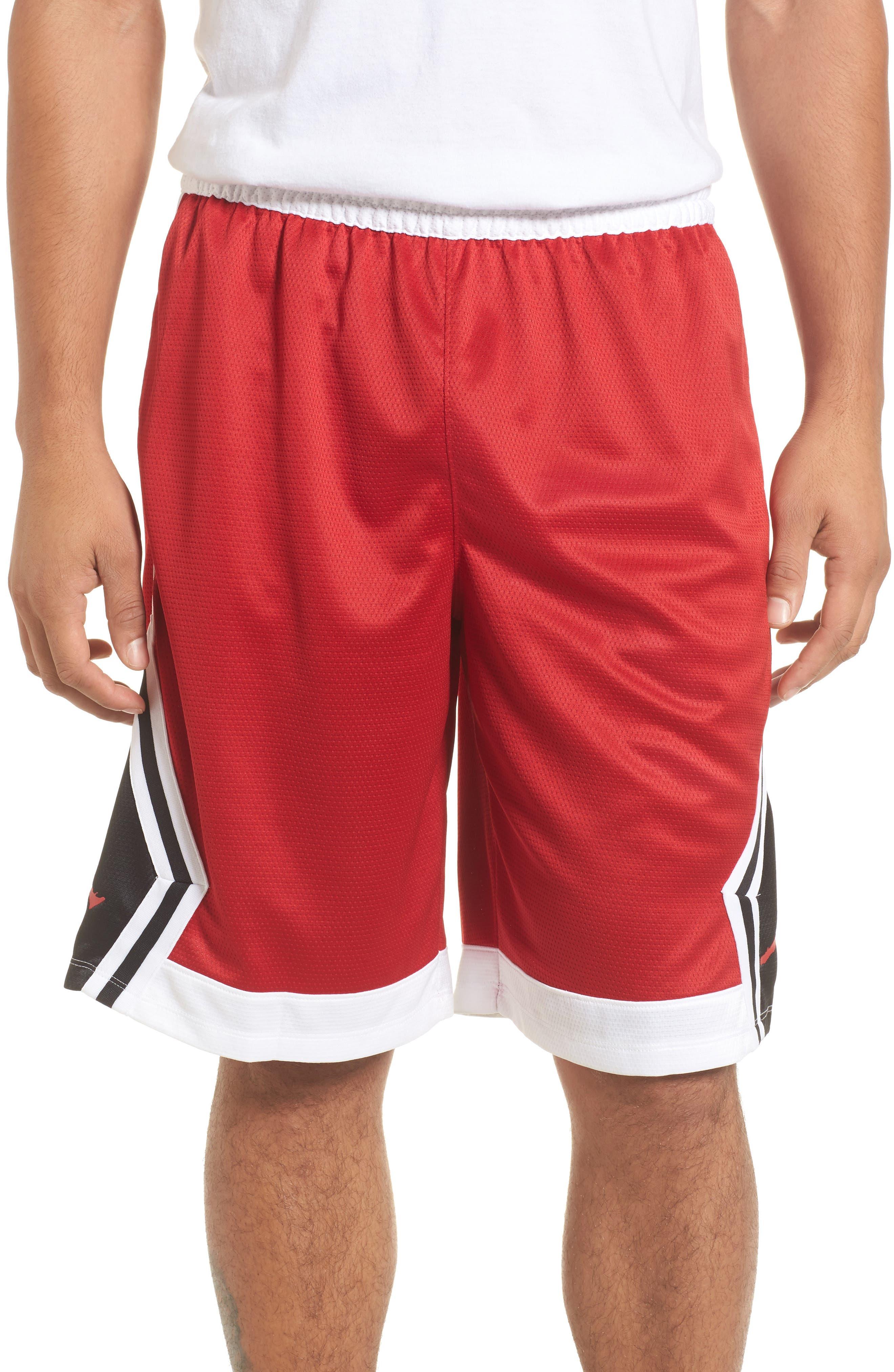 Sportswear Rise Diamond Shorts,                             Main thumbnail 6, color,