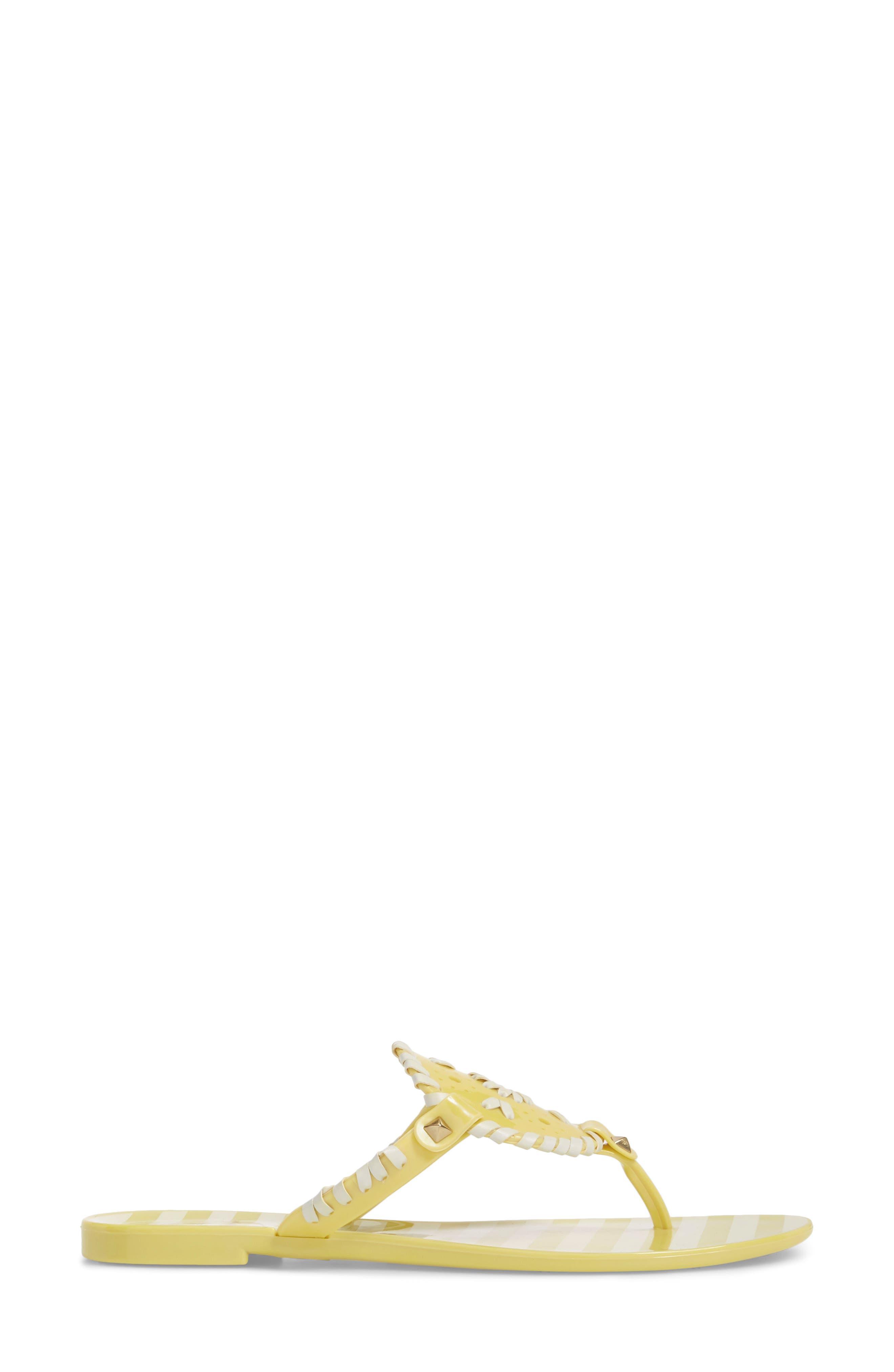 'Georgica' Jelly Flip Flop,                             Alternate thumbnail 87, color,