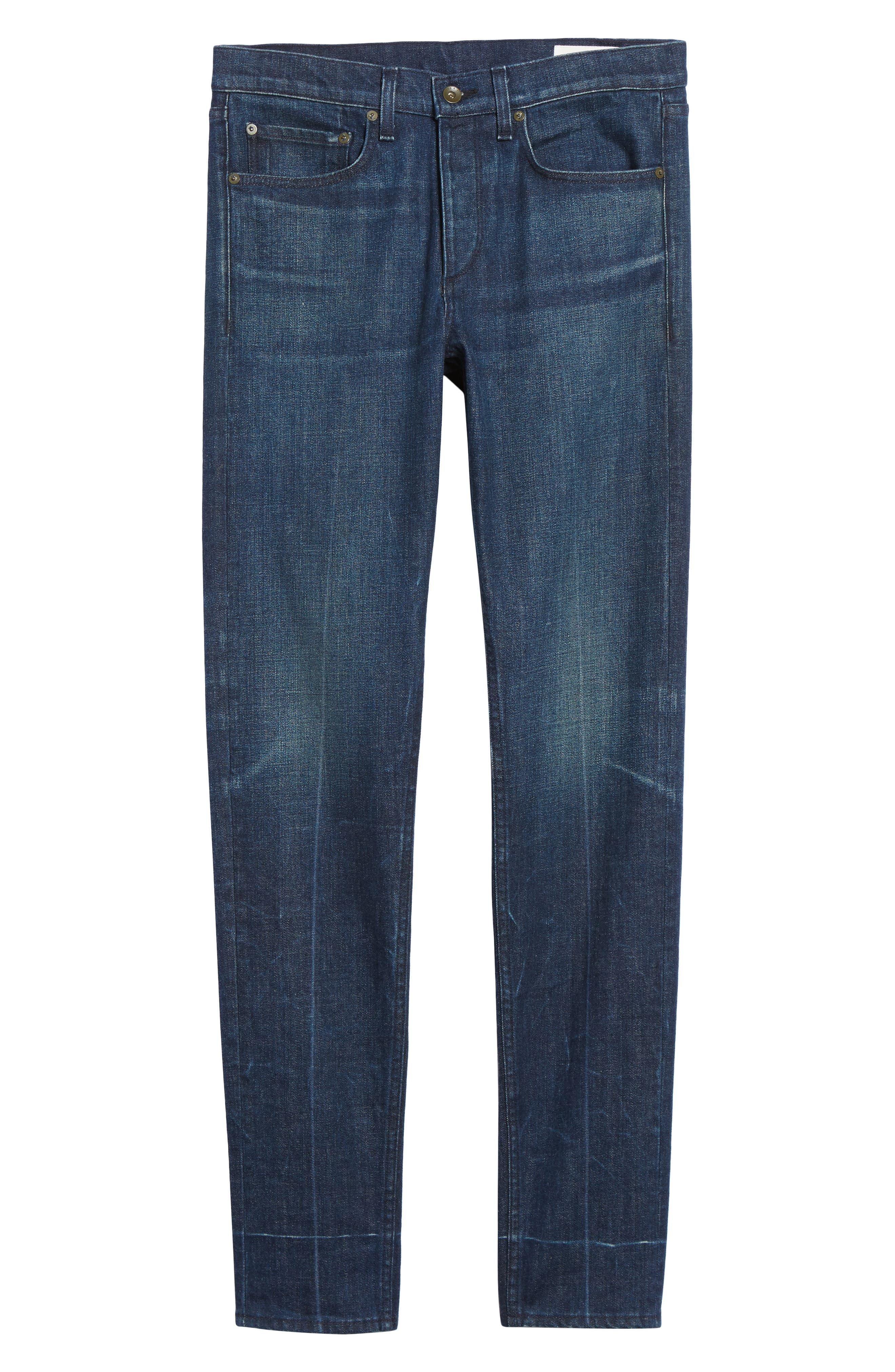 Fit 1 Skinny Fit Jeans,                             Alternate thumbnail 6, color,                             402