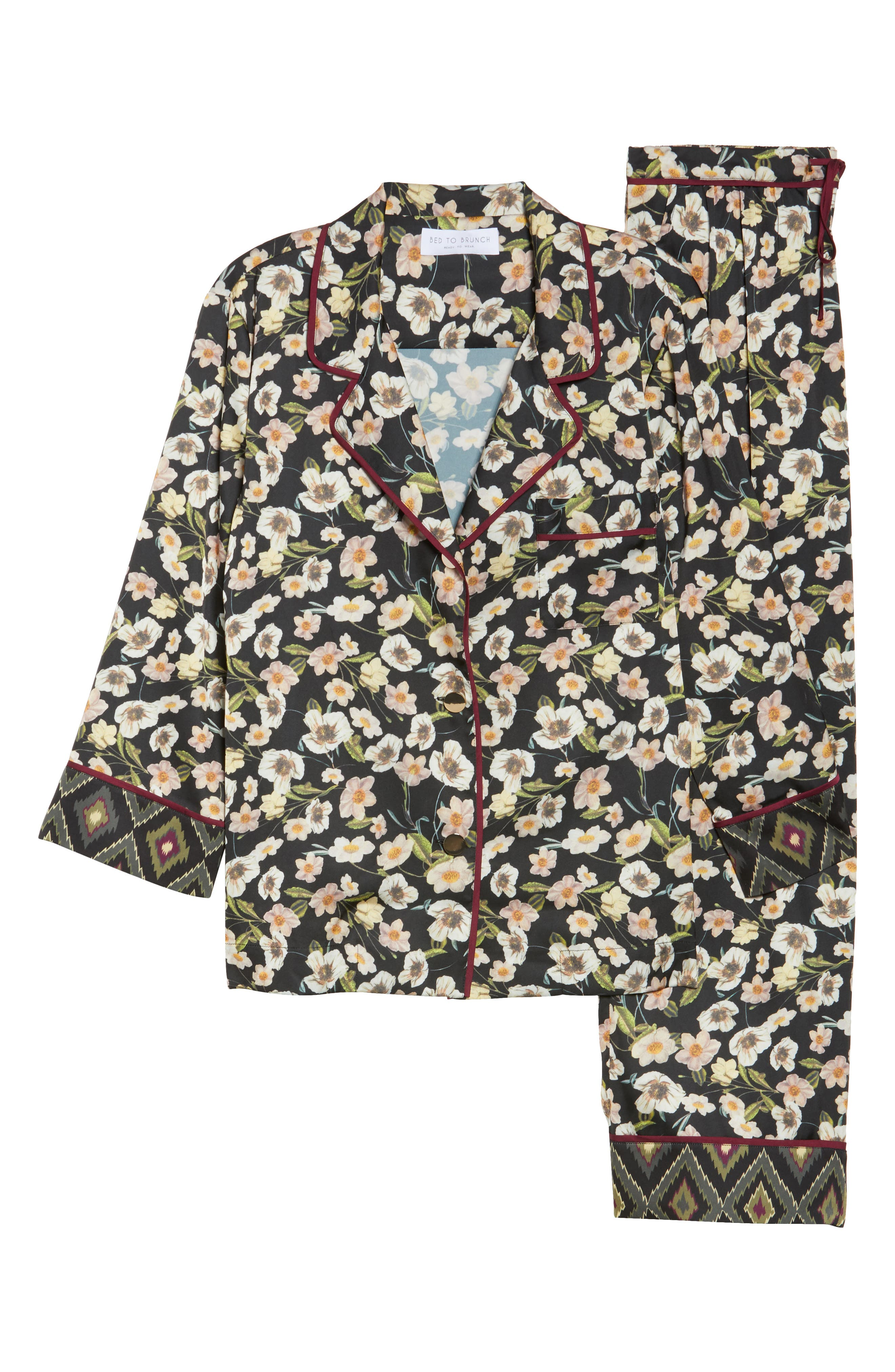 Print Pajamas,                             Alternate thumbnail 11, color,