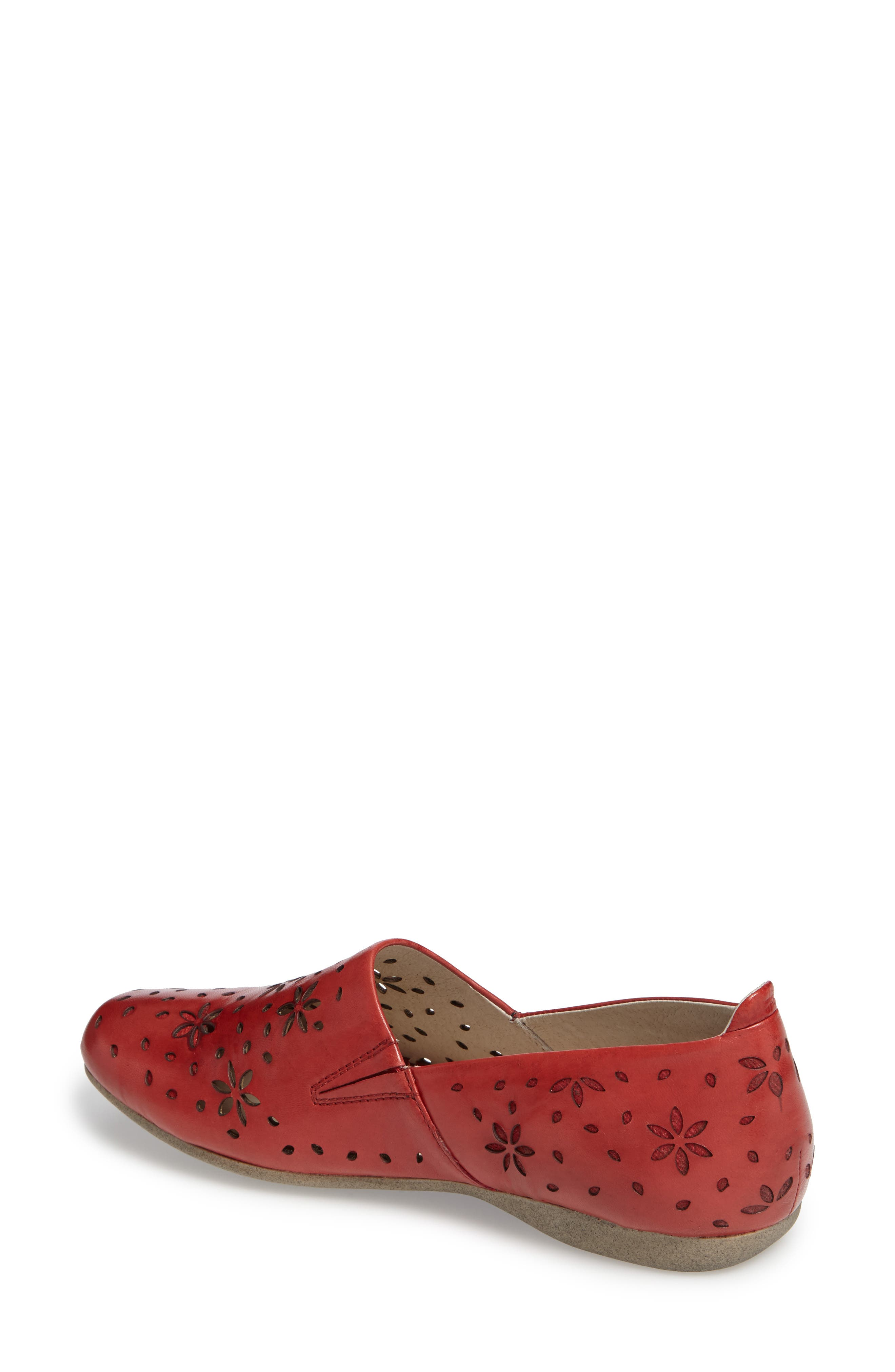 Fiona 31 Perforated Flat,                             Alternate thumbnail 6, color,