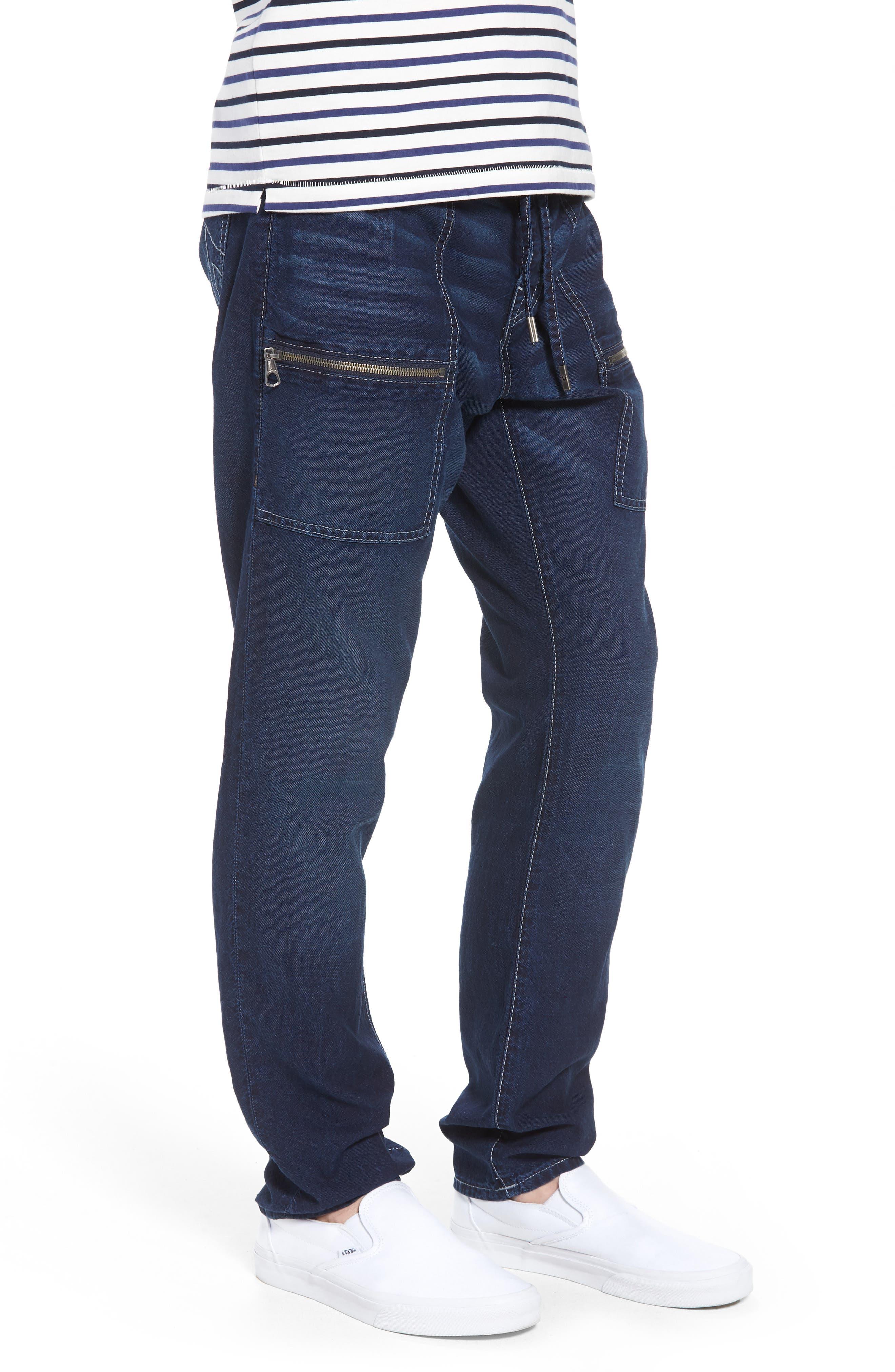 Trail Utility Jeans,                             Alternate thumbnail 3, color,                             UNION SPECIAL