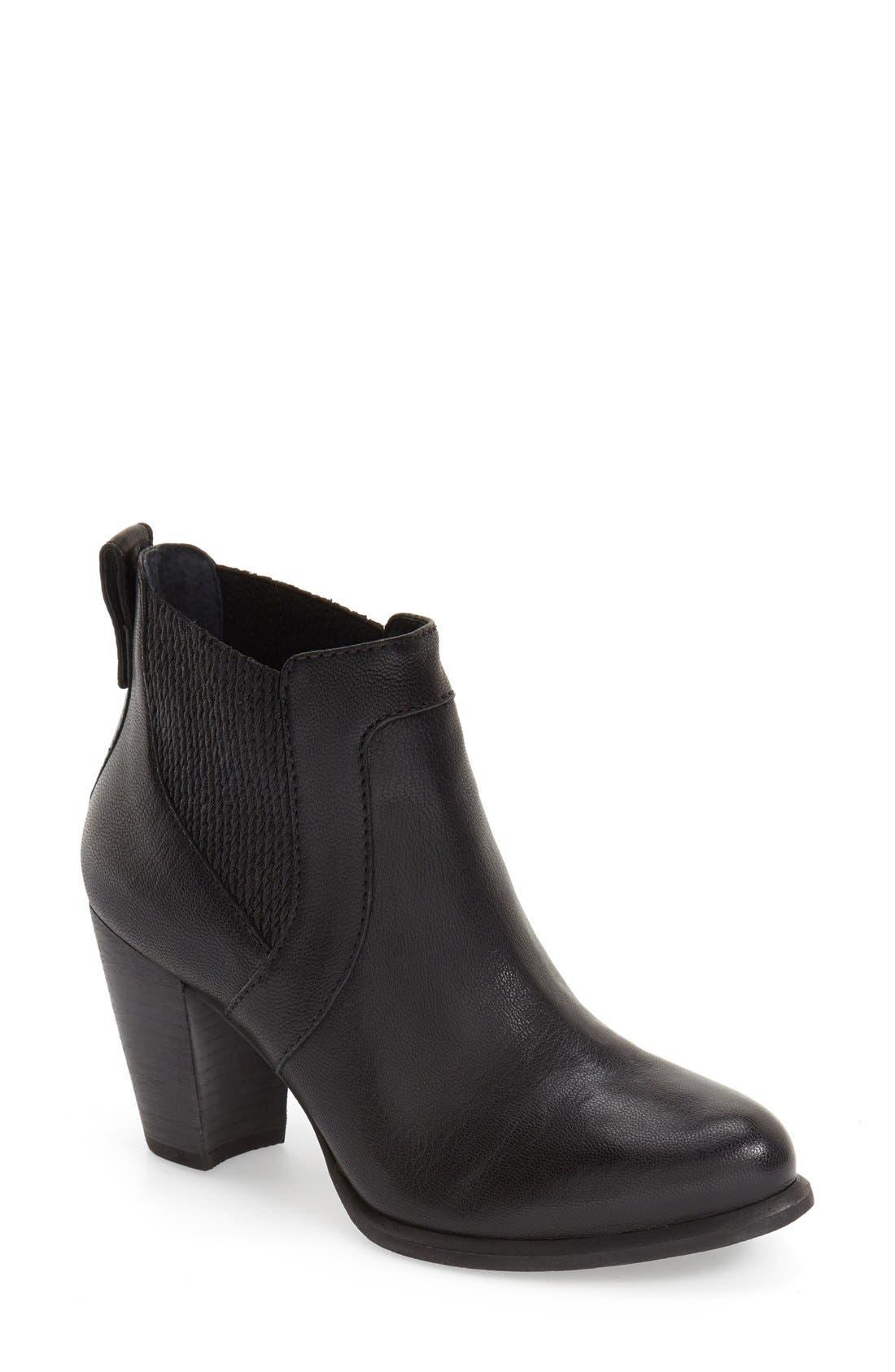 'Cobie II' Block Heel Bootie, Main, color, 001