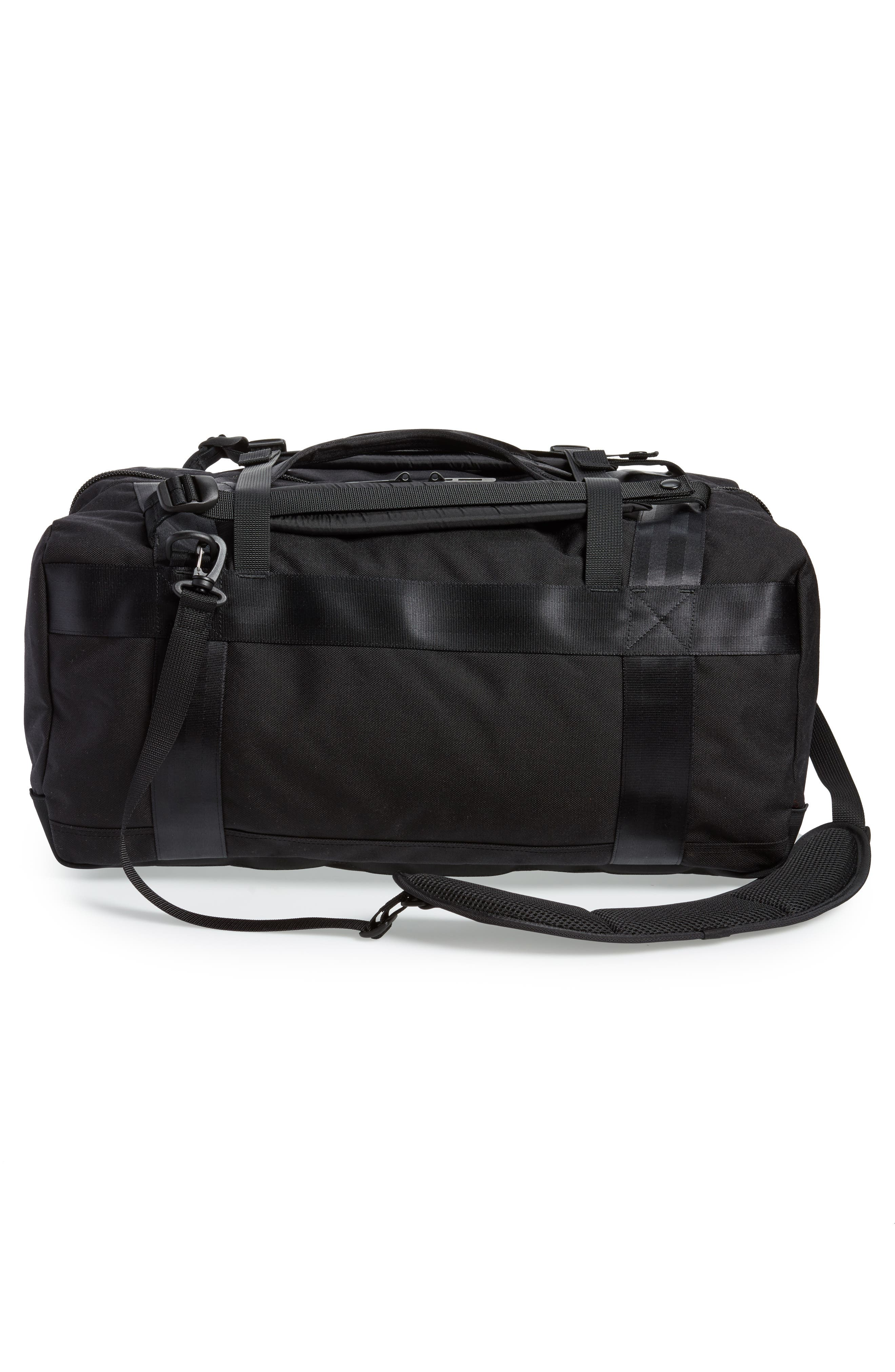 Porter-Yoshida & Co. Boothpack Convertible Duffel Bag,                             Alternate thumbnail 4, color,                             BLACK
