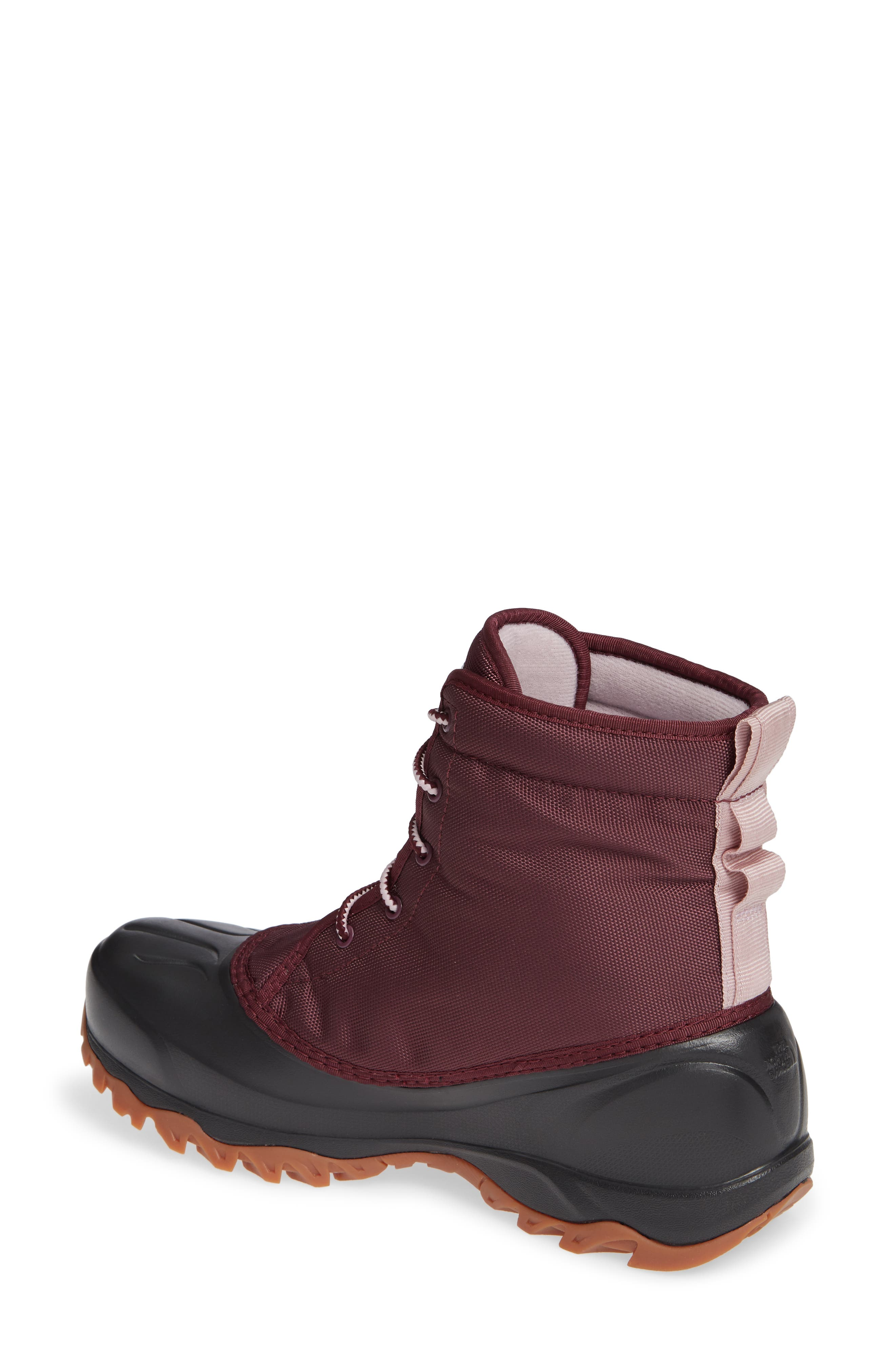 Tsumoru Waterproof Insulated Snow Boot,                             Alternate thumbnail 2, color,                             FIG/ BURNISHED LILAC