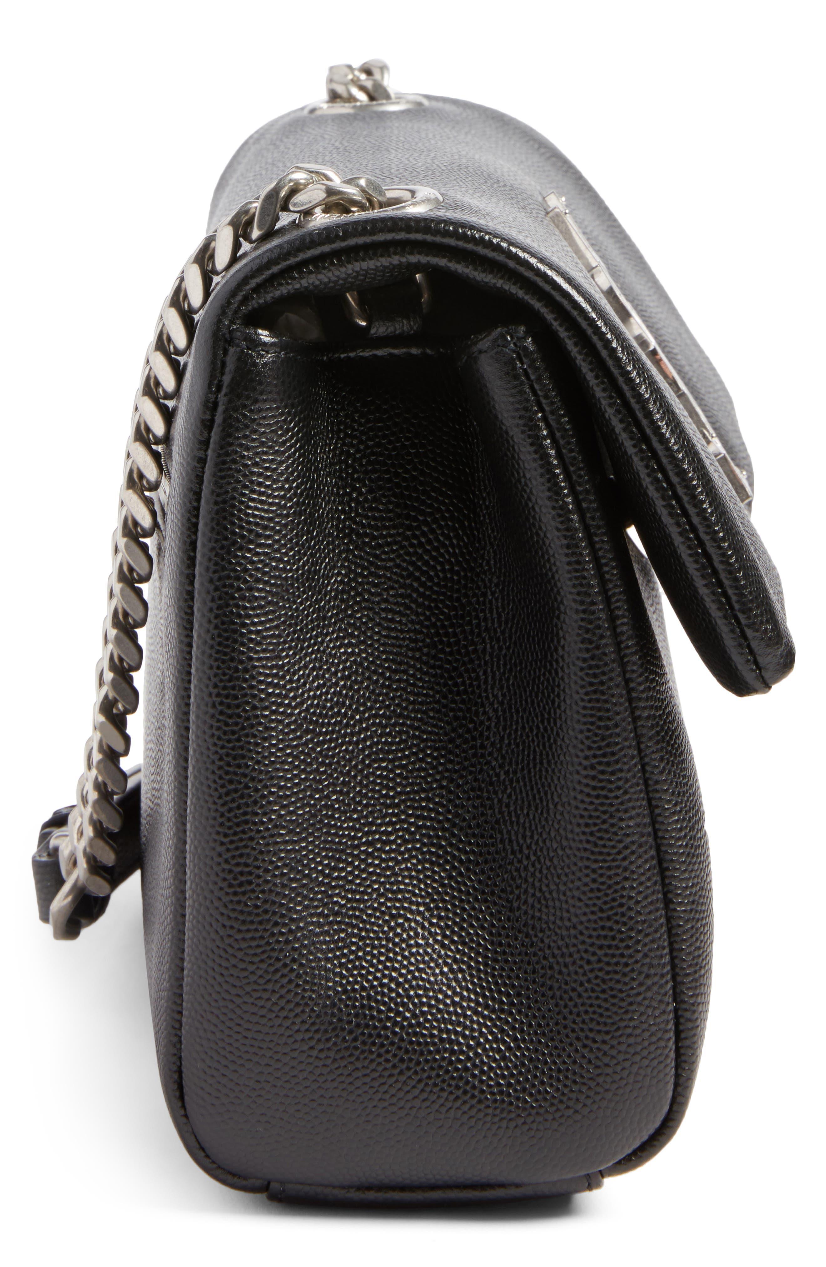 West Hollywood Calfskin Leather Messenger Bag,                             Alternate thumbnail 16, color,