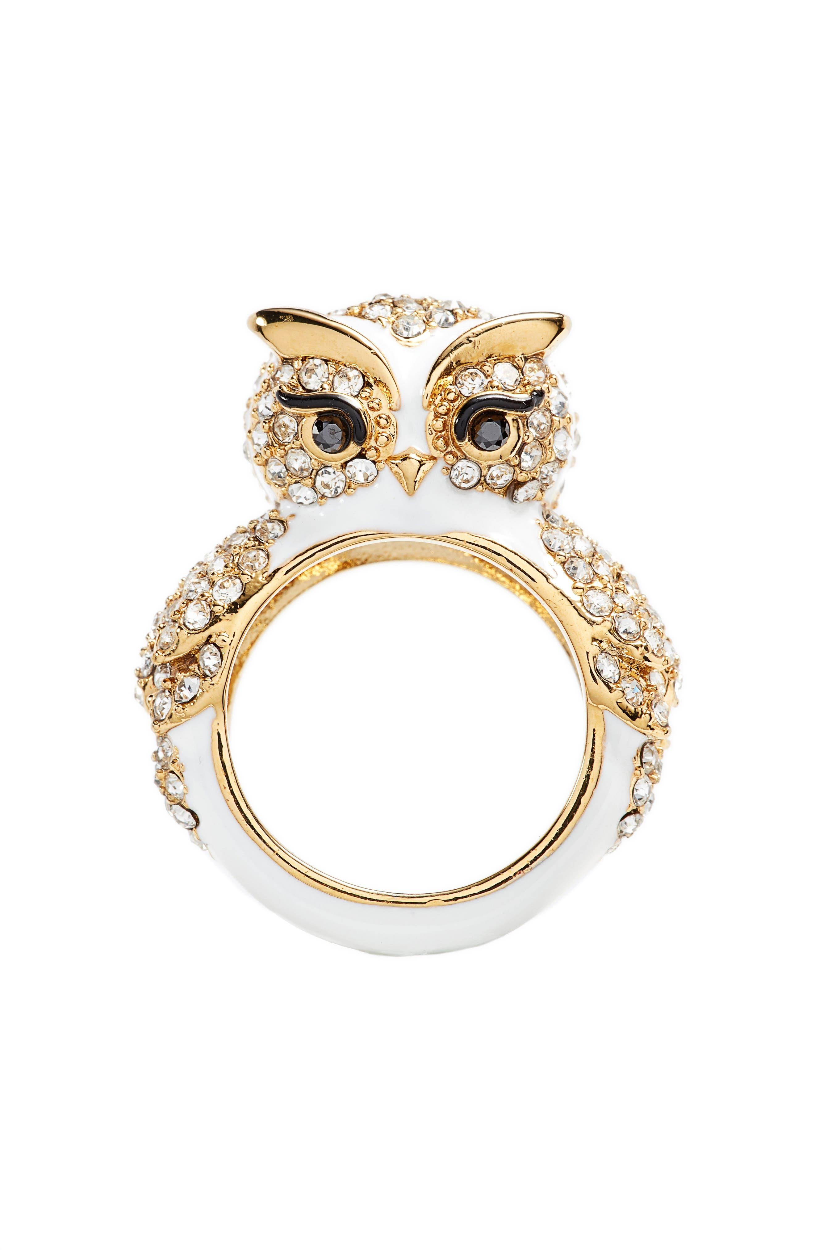 star bright owl ring,                             Alternate thumbnail 3, color,                             194