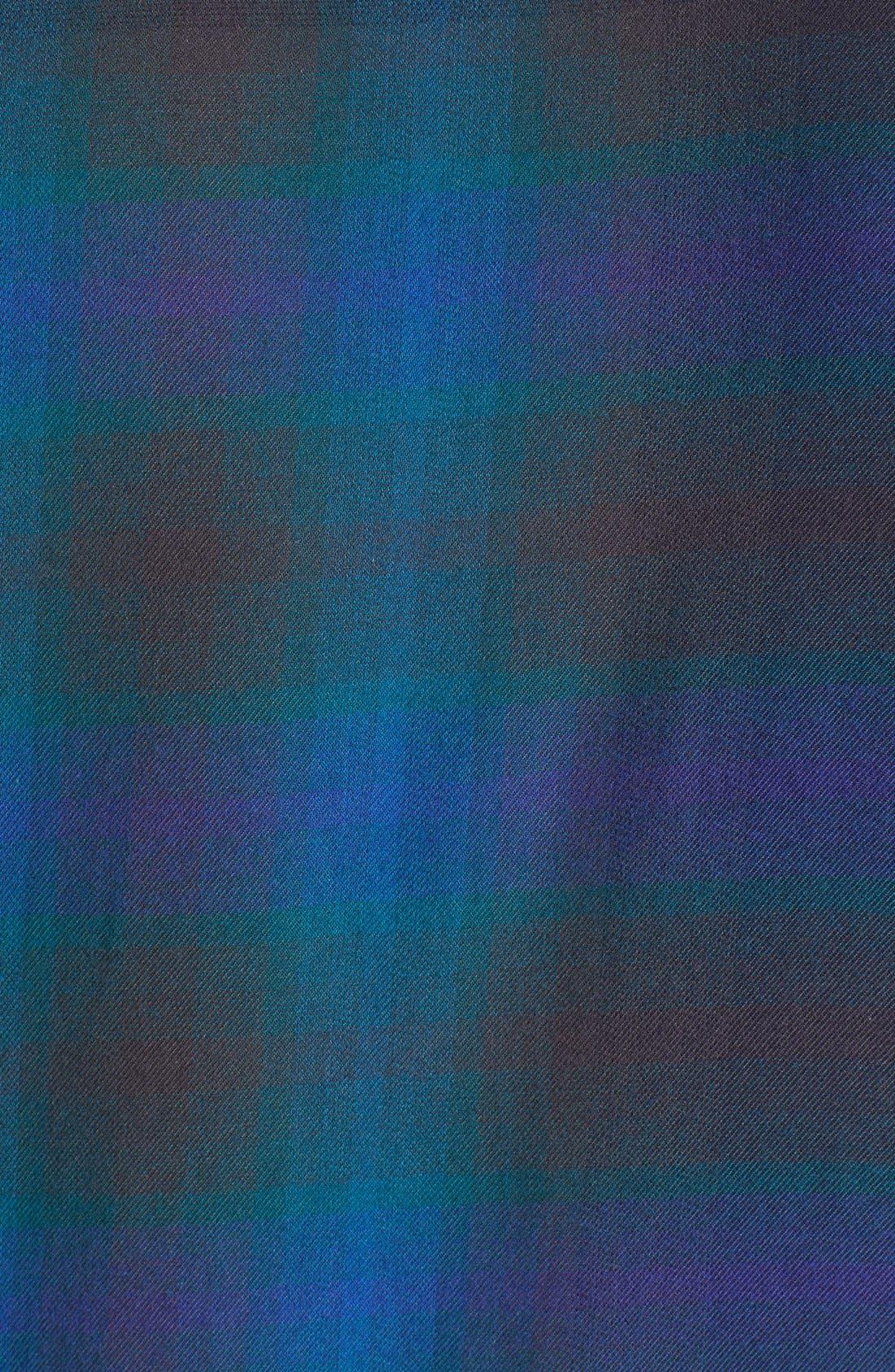 Brit 'Adken' Check Sport Shirt,                             Alternate thumbnail 4, color,                             412