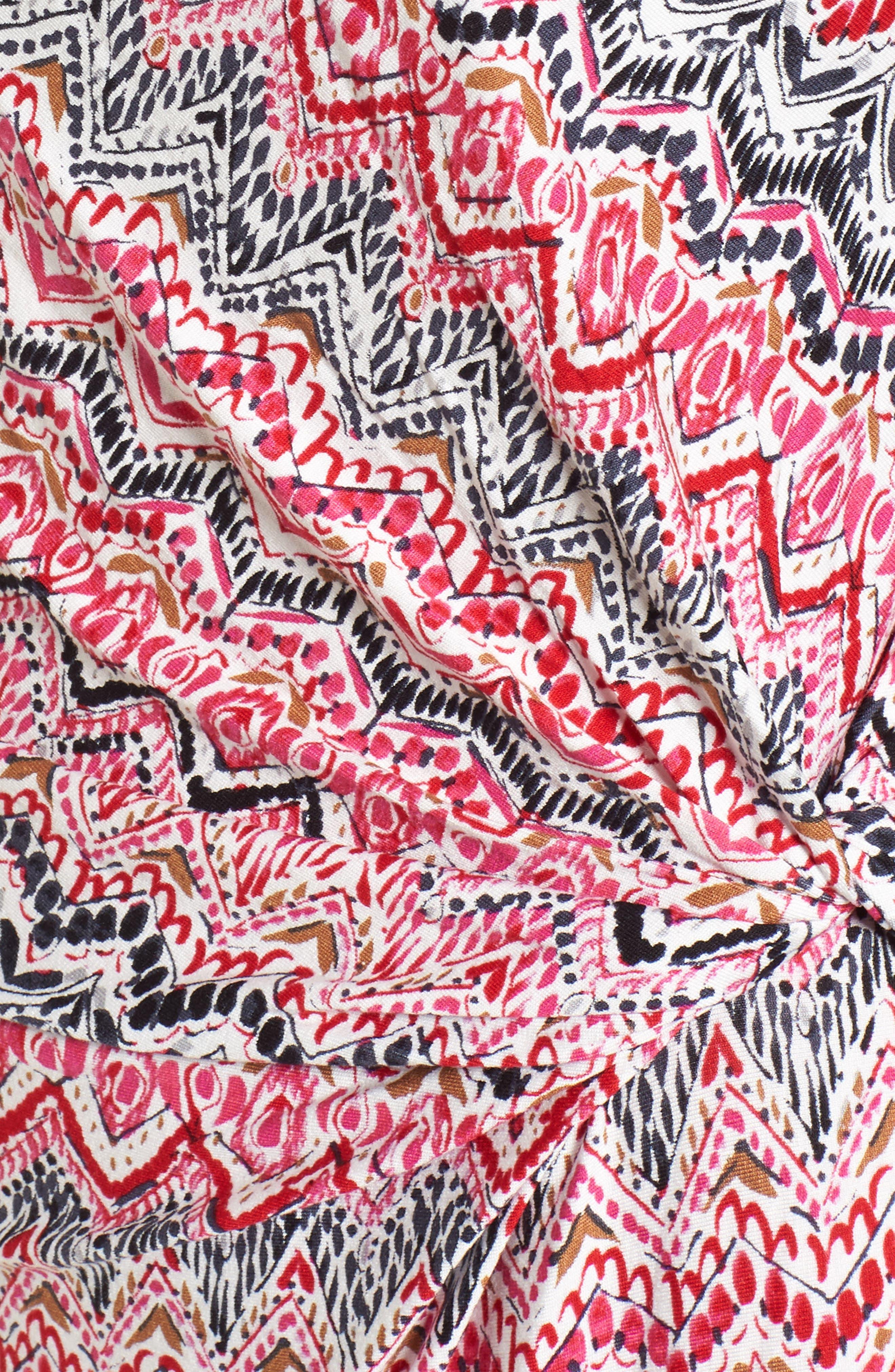 Spiced Up Twist Sheath Dress,                             Alternate thumbnail 5, color,                             690