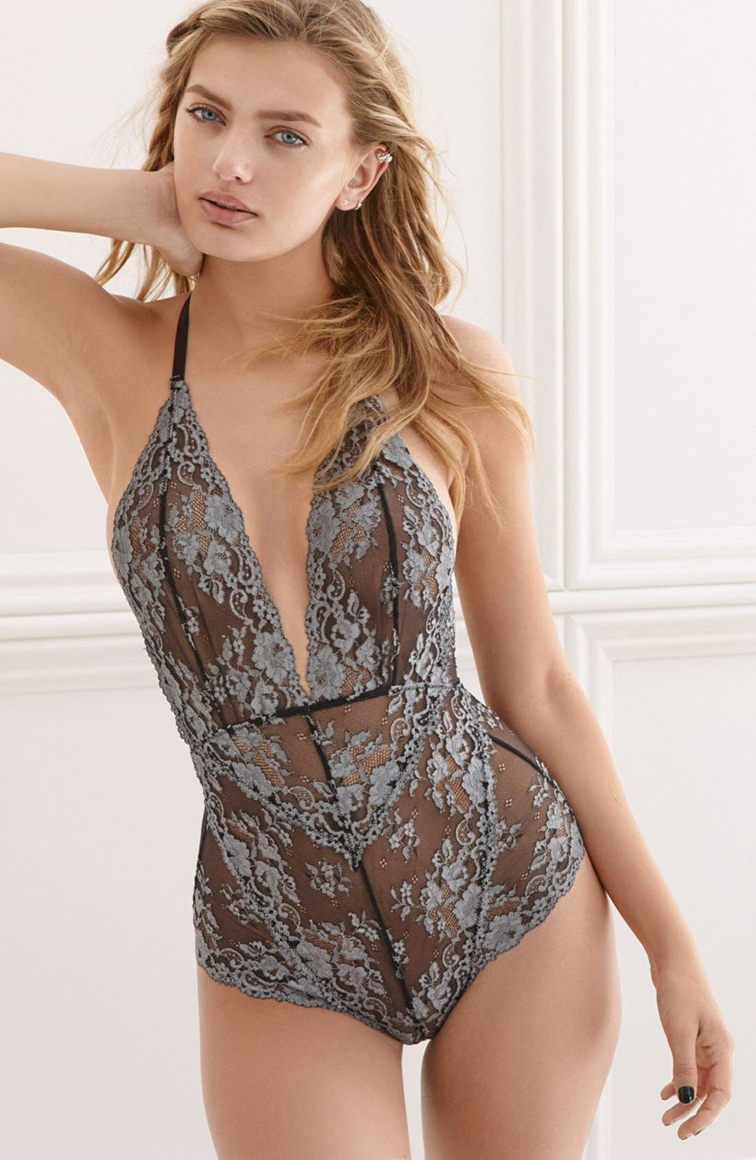 Intimately FP Too Cute to Handle Bodysuit,                             Alternate thumbnail 5, color,                             010