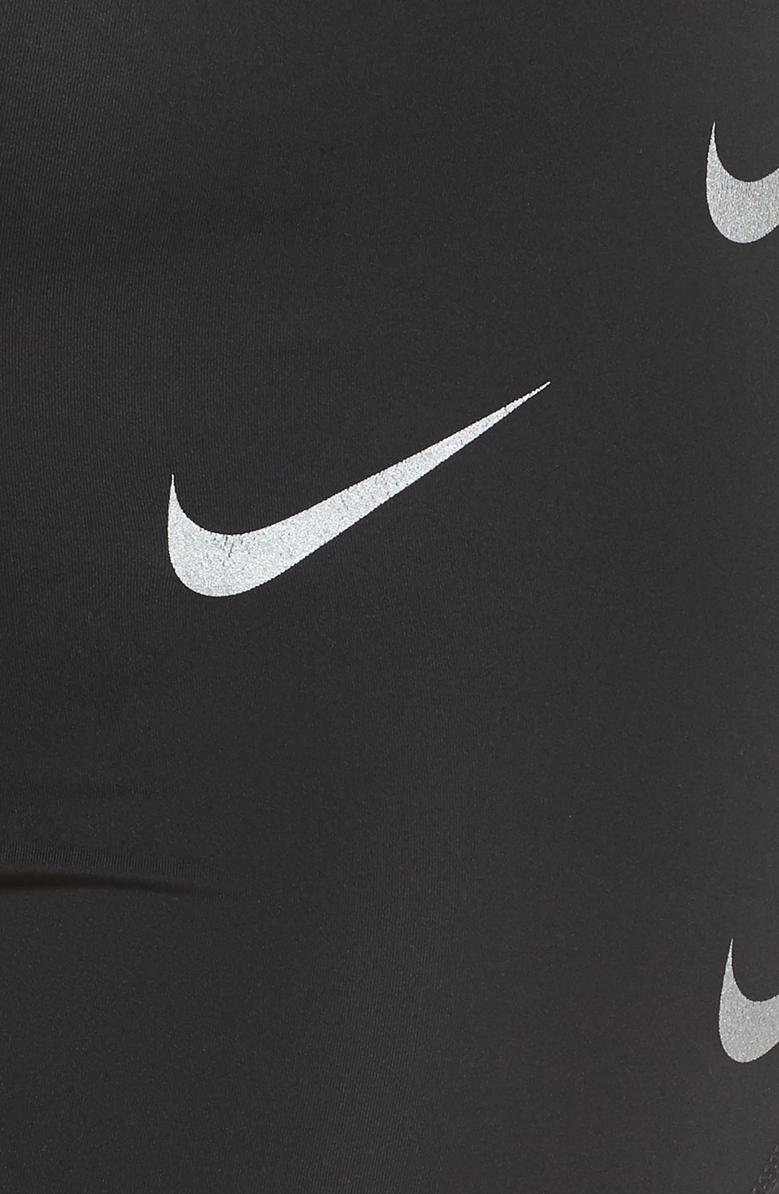 Pro Metallic Shorts,                             Alternate thumbnail 13, color,                             BLACK