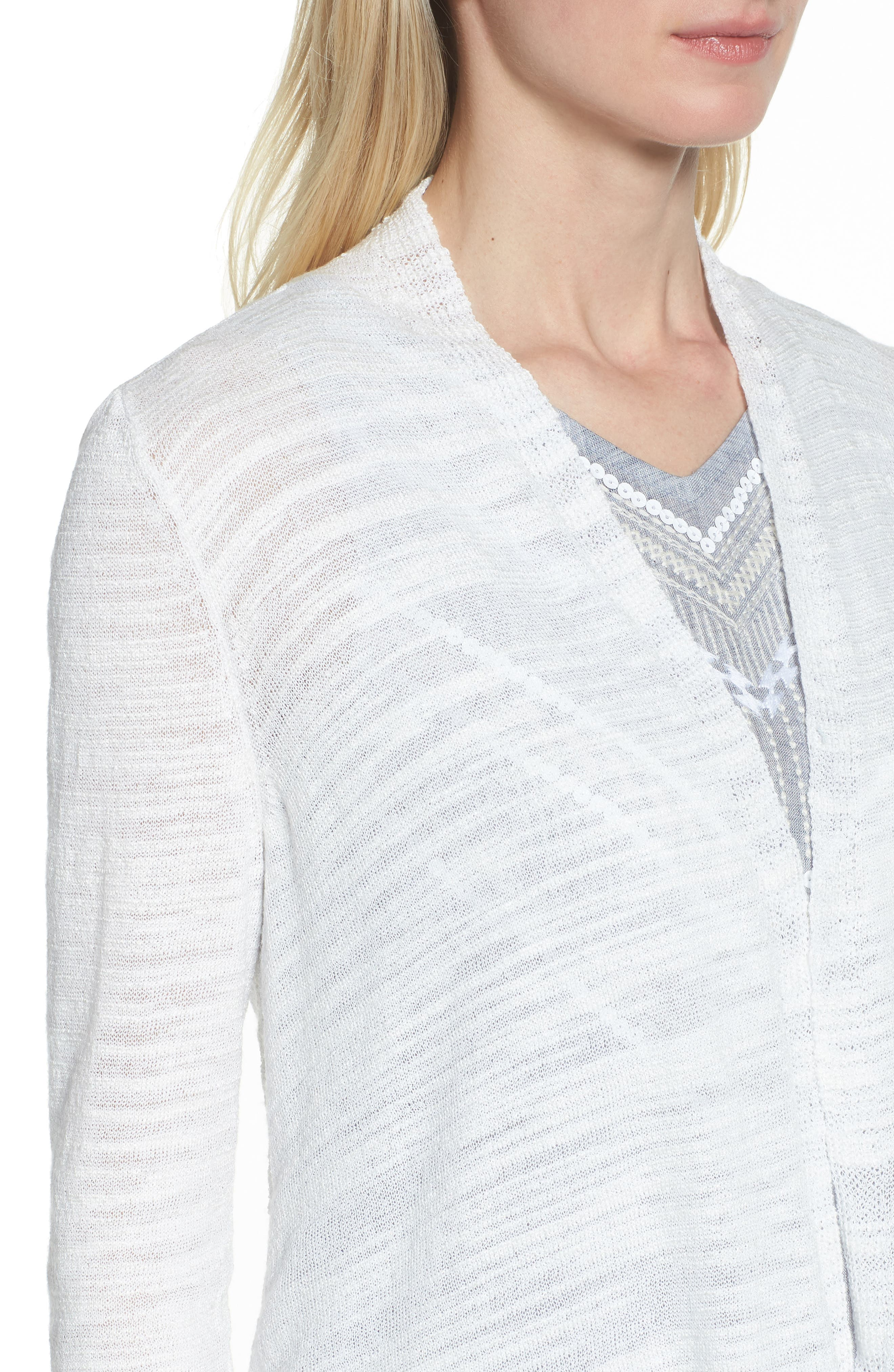 Cliff Dive Cardigan,                             Alternate thumbnail 4, color,                             123