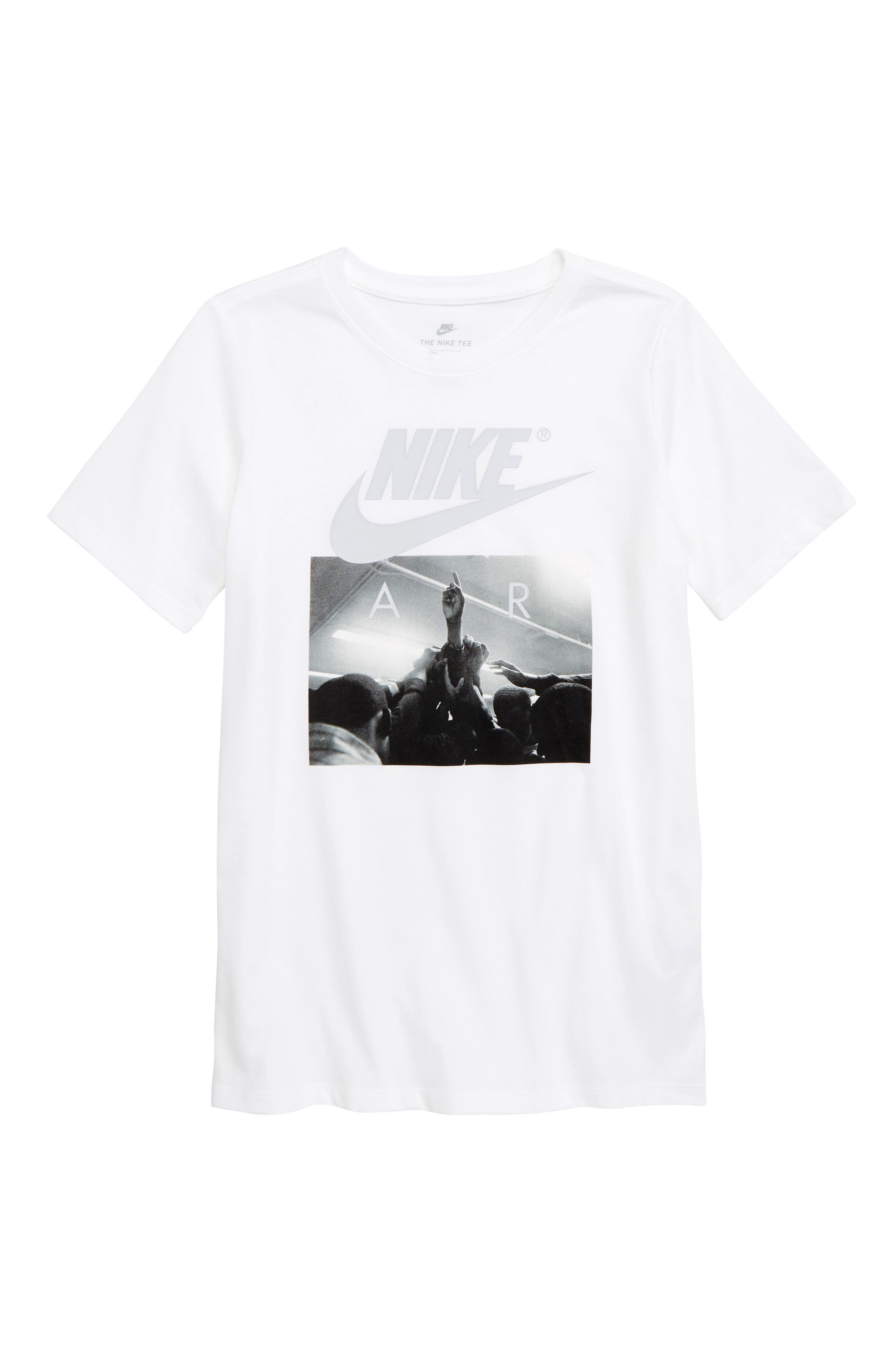Air Huddle T-Shirt,                             Main thumbnail 1, color,                             WHITE