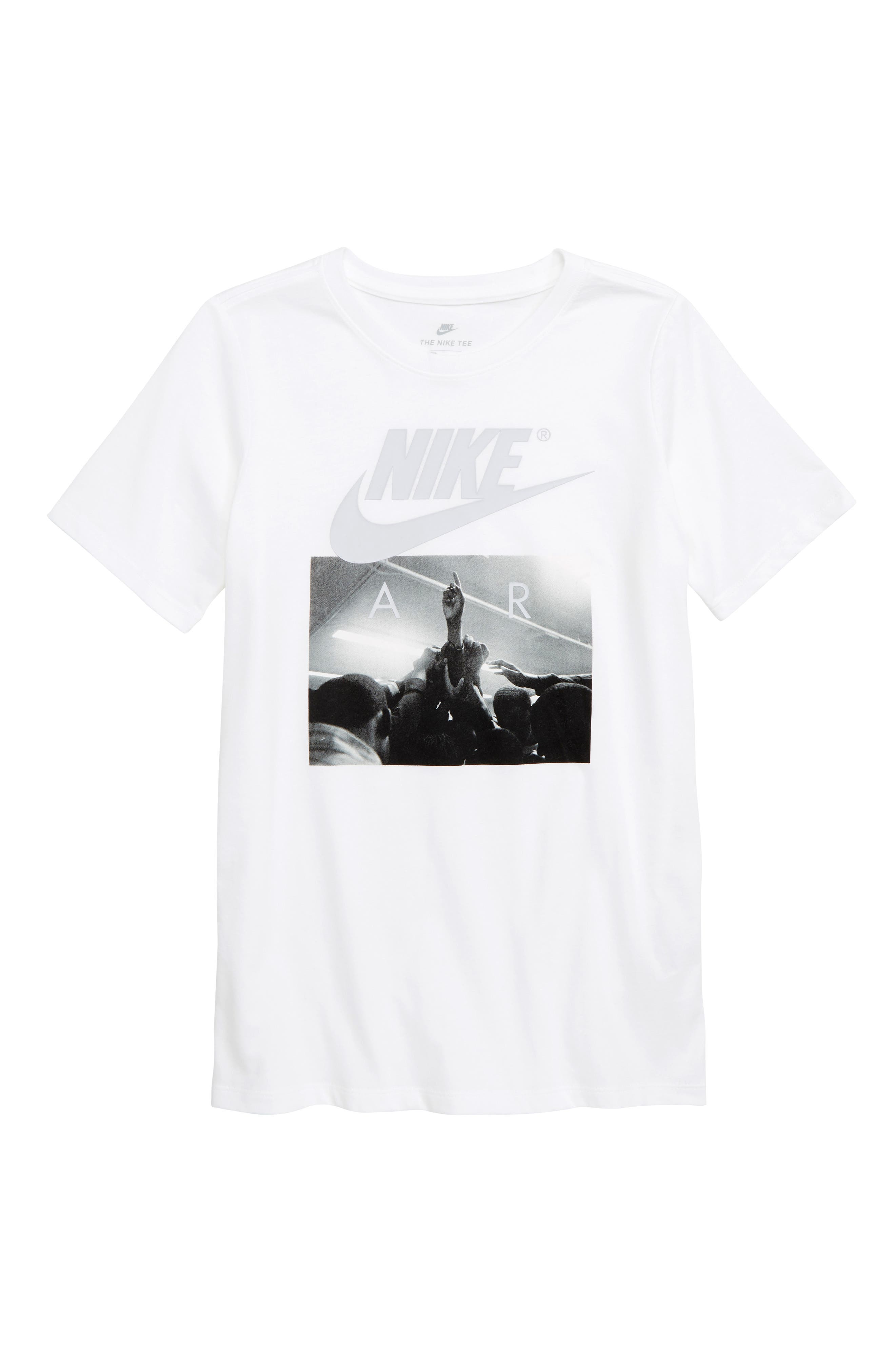 Air Huddle T-Shirt,                         Main,                         color, WHITE