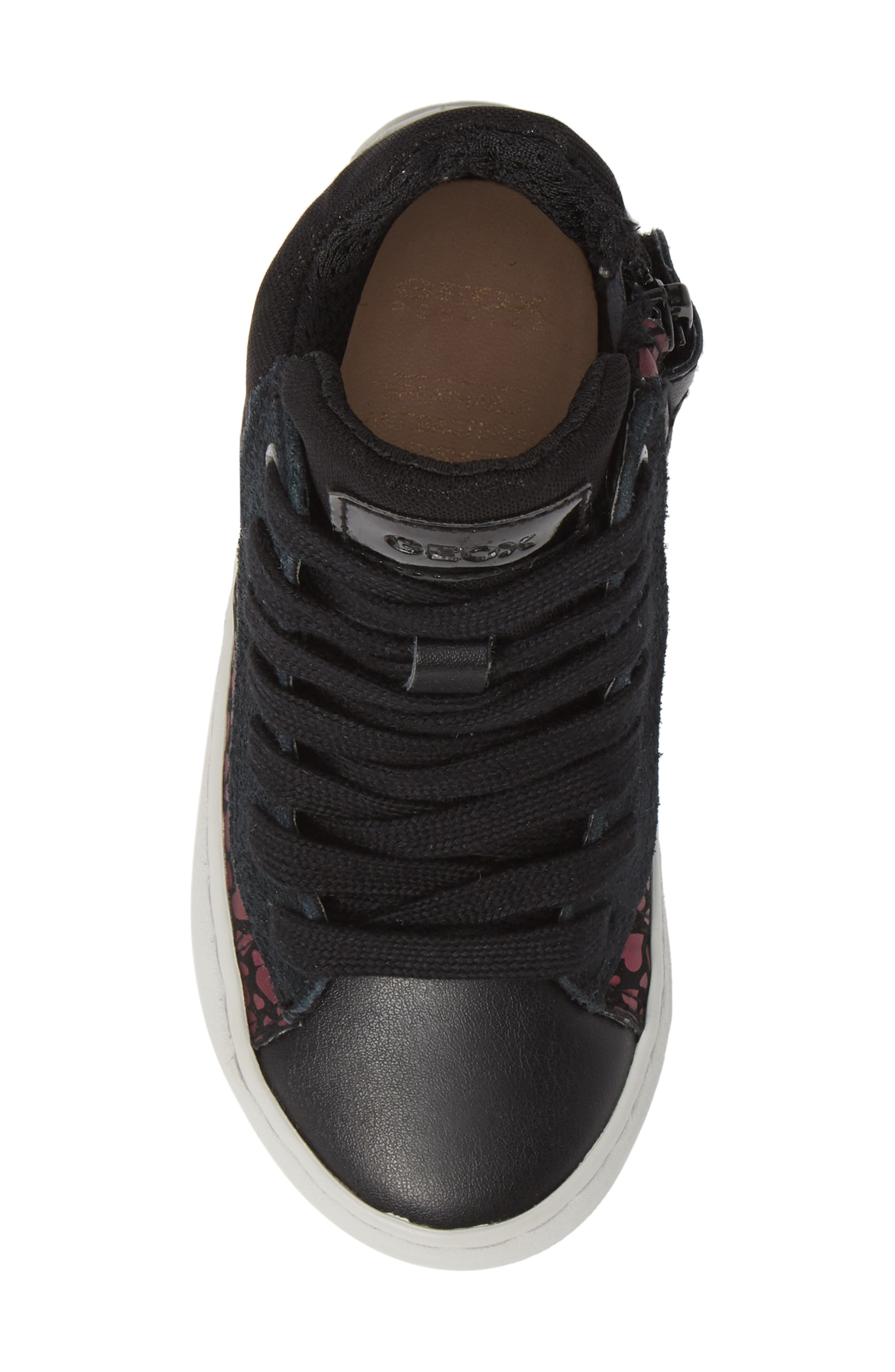 Kalispera High Top Sneaker,                             Alternate thumbnail 5, color,                             BLACK