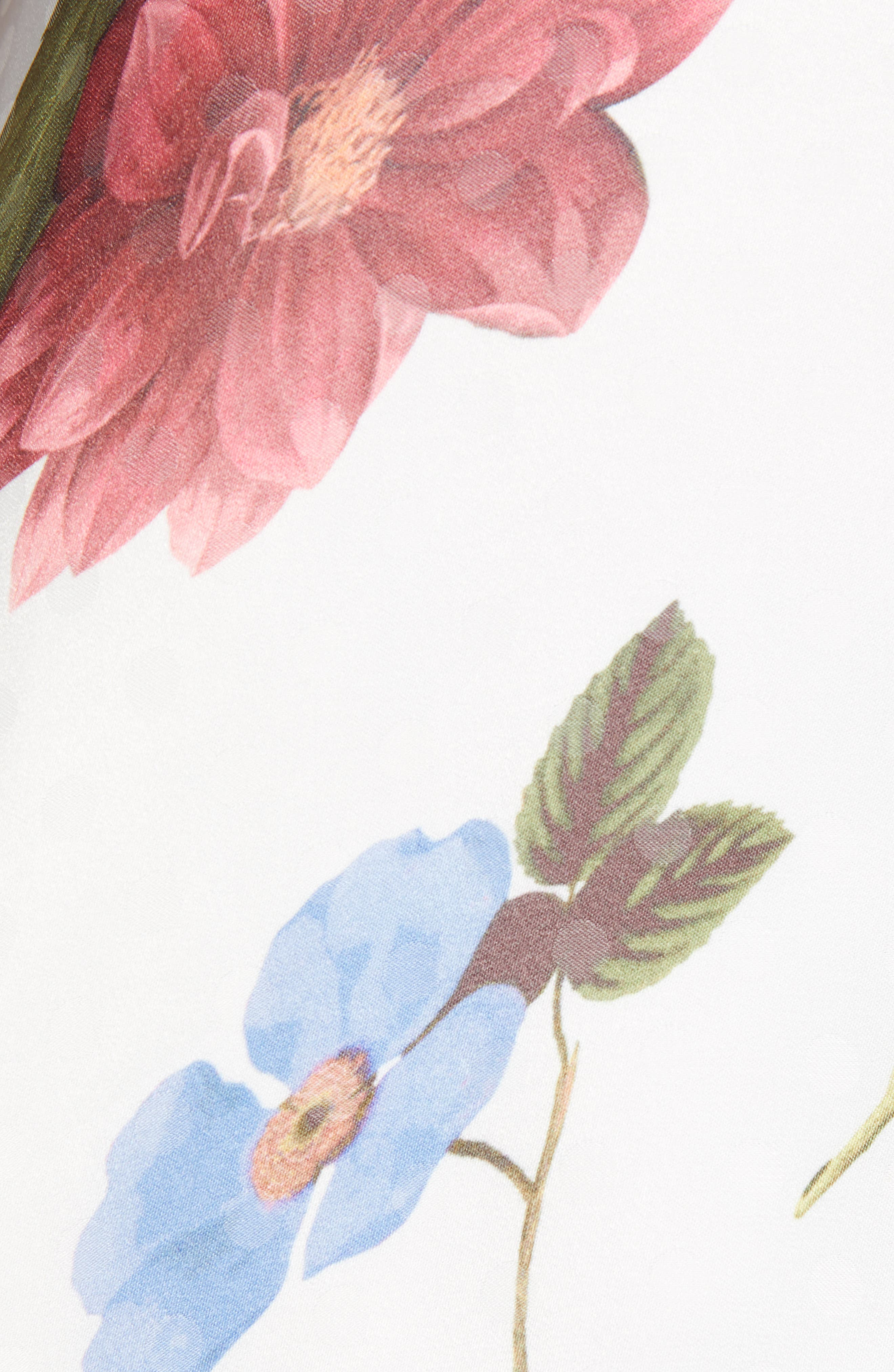SHOW ME YOUR MUMU,                             Bernadette Babydoll Dress,                             Alternate thumbnail 6, color,                             FLORENCE FLORAL SILKY DOTS