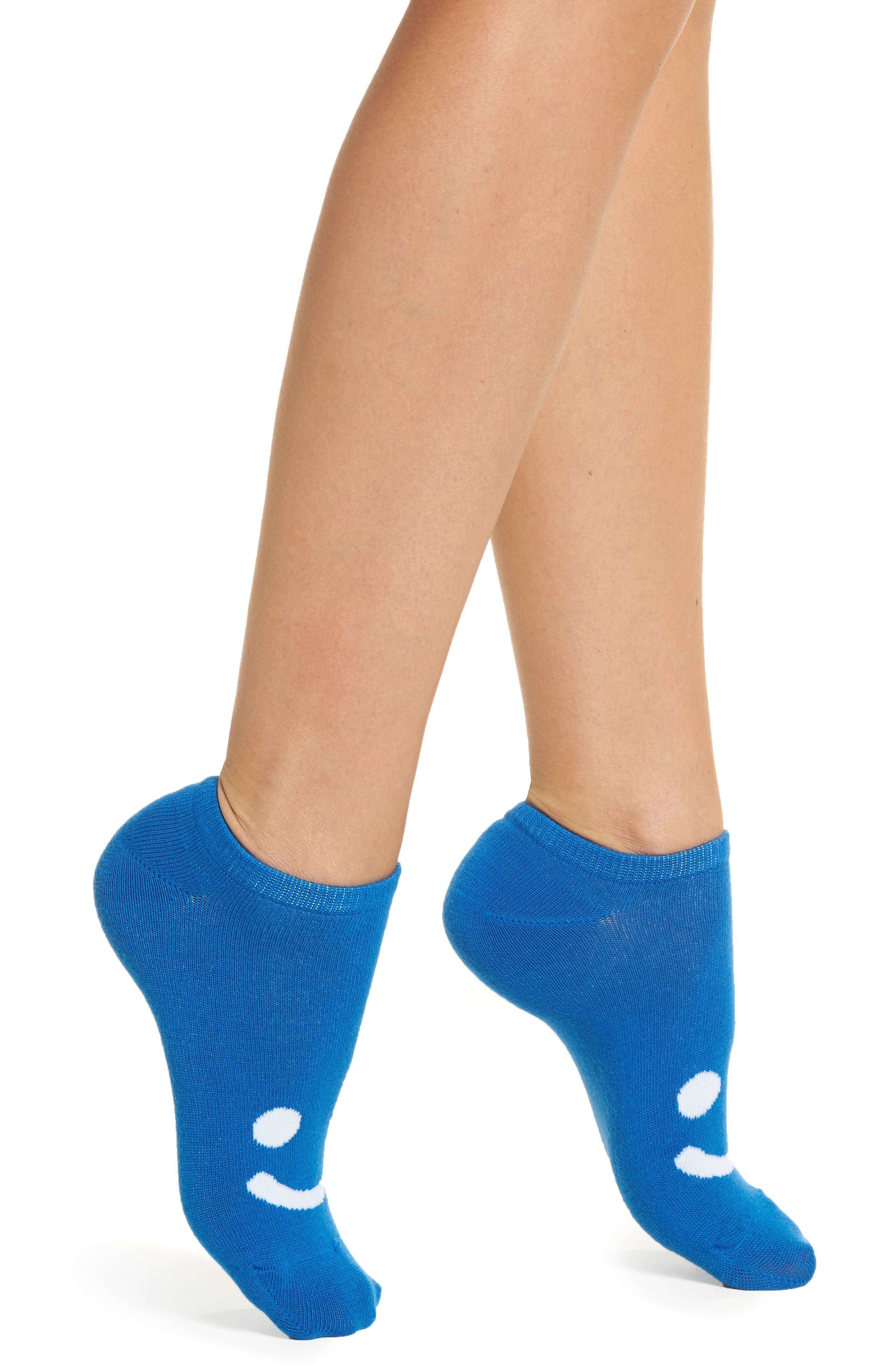 6-Pack All Smiles No-Show Socks,                         Main,                         color,