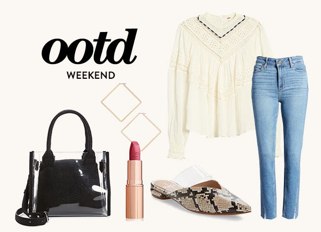 Weekend outfit of the day.