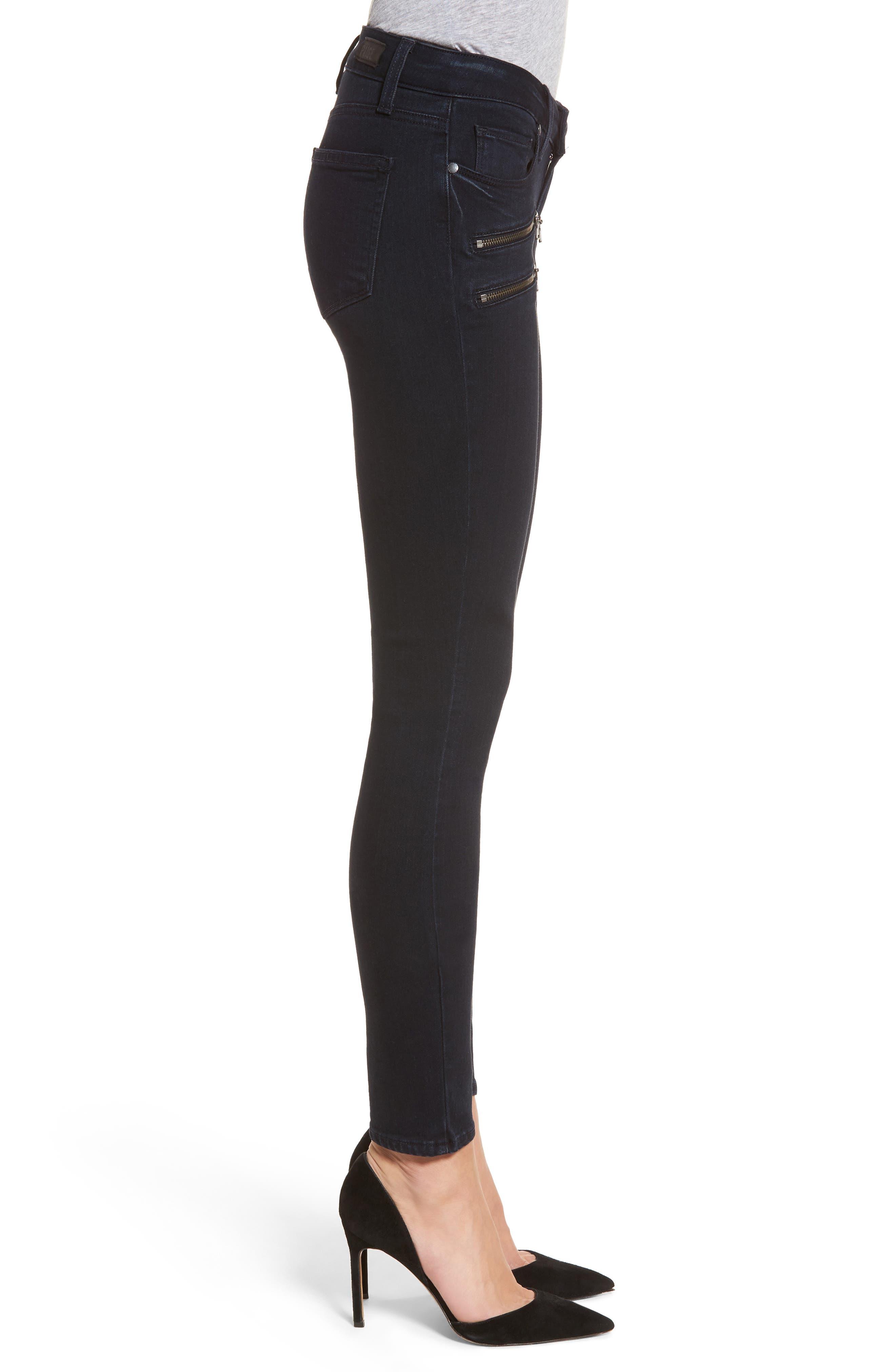 Transcend - Edgemont Ultra Skinny Jeans,                             Alternate thumbnail 3, color,                             400