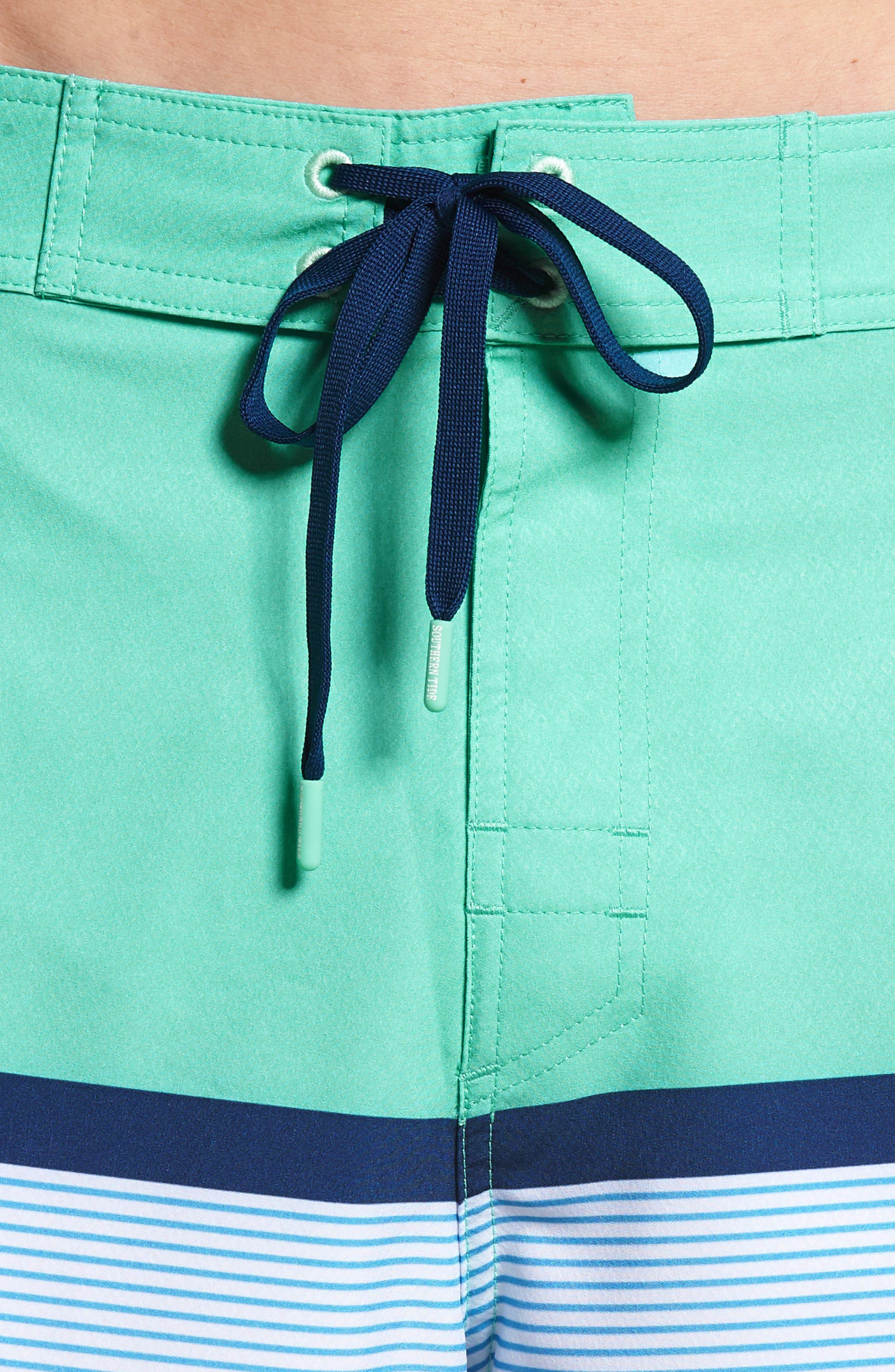 Blue Lagoon Swim Trunks,                             Alternate thumbnail 4, color,                             400