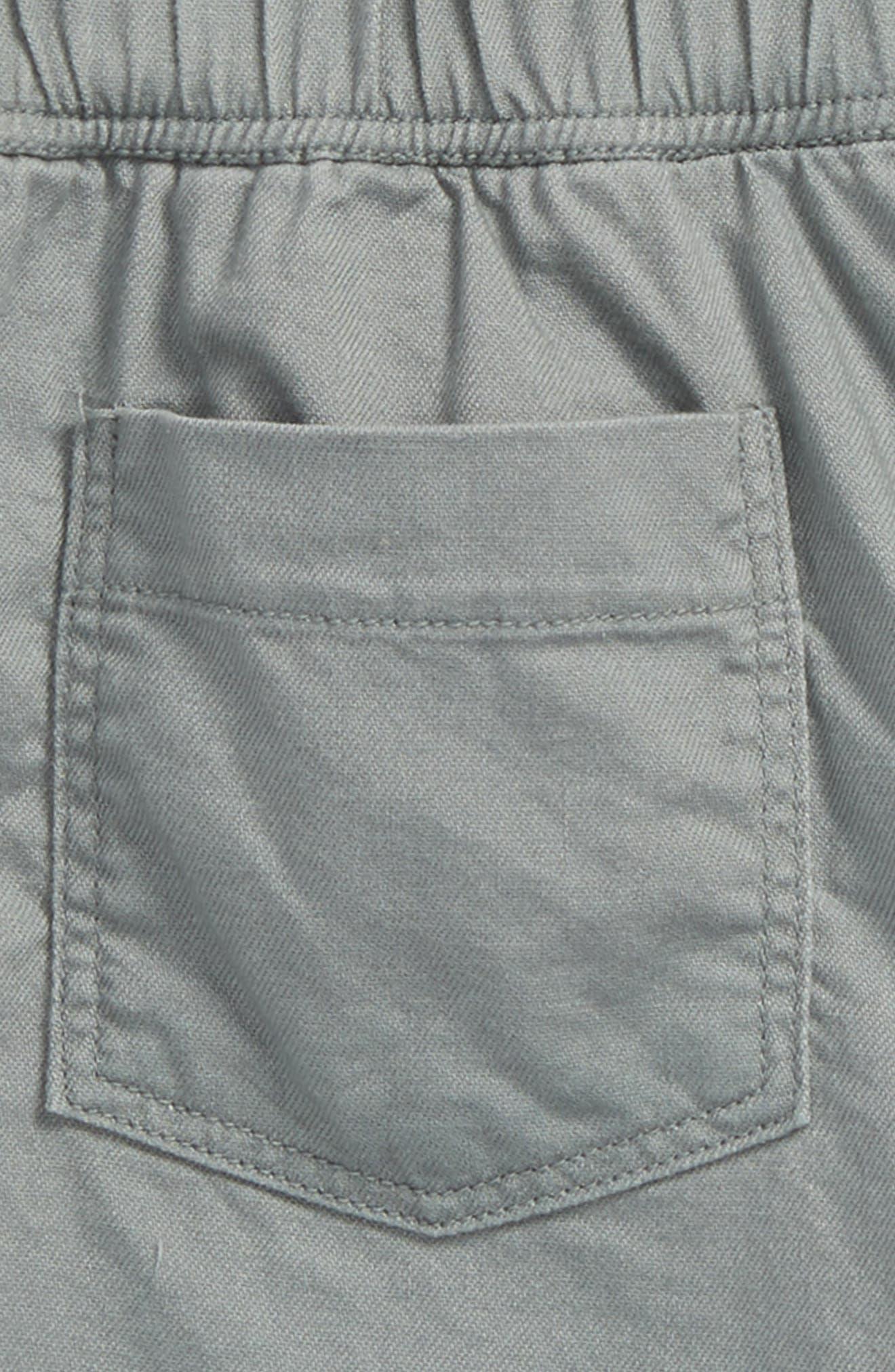 Twill Shorts,                             Alternate thumbnail 3, color,