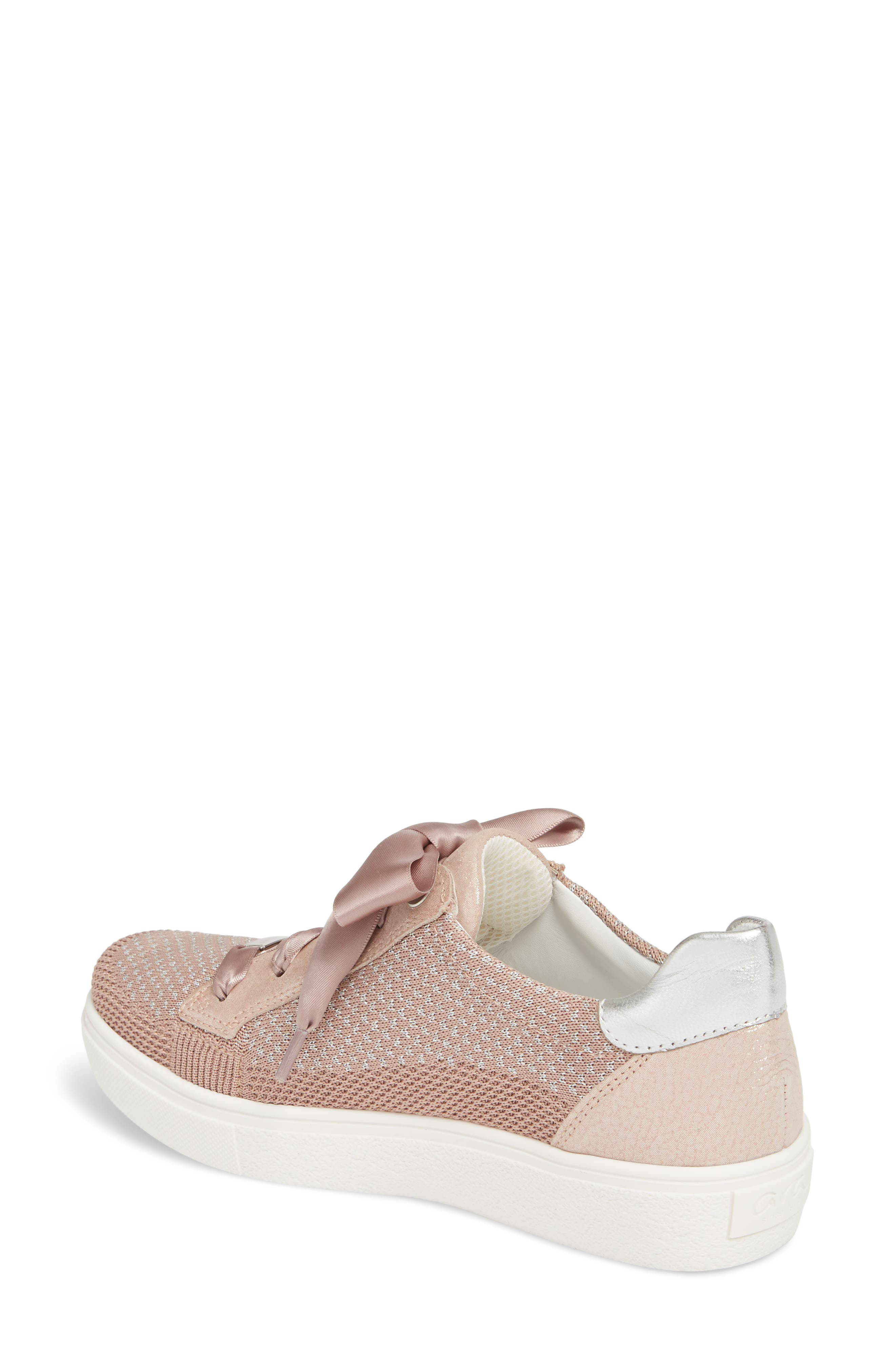 Natalya Sneaker,                             Alternate thumbnail 2, color,                             POWDER FABRIC