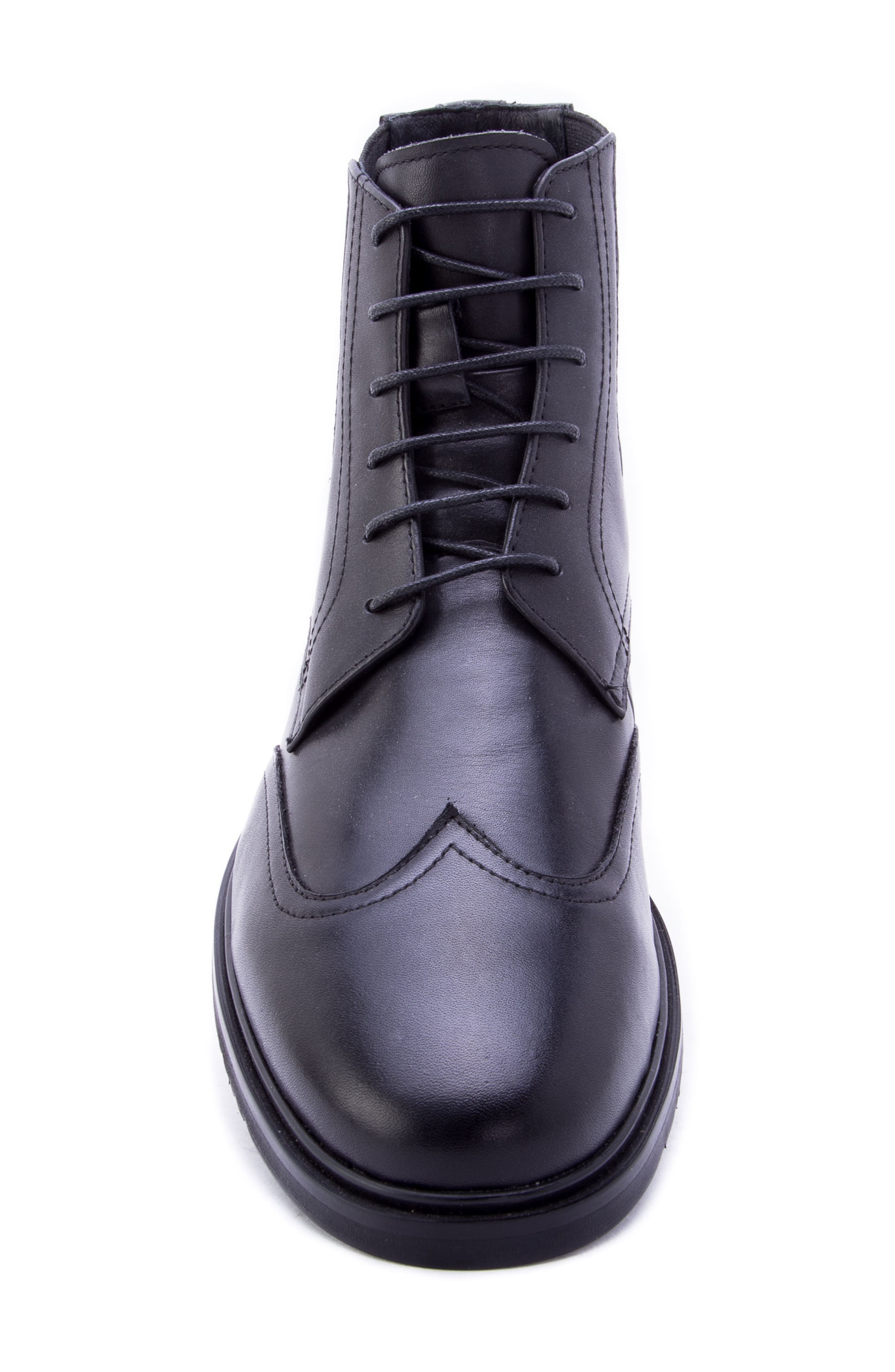 Morell Lace-Up Chelsea Boot,                             Alternate thumbnail 5, color,                             001