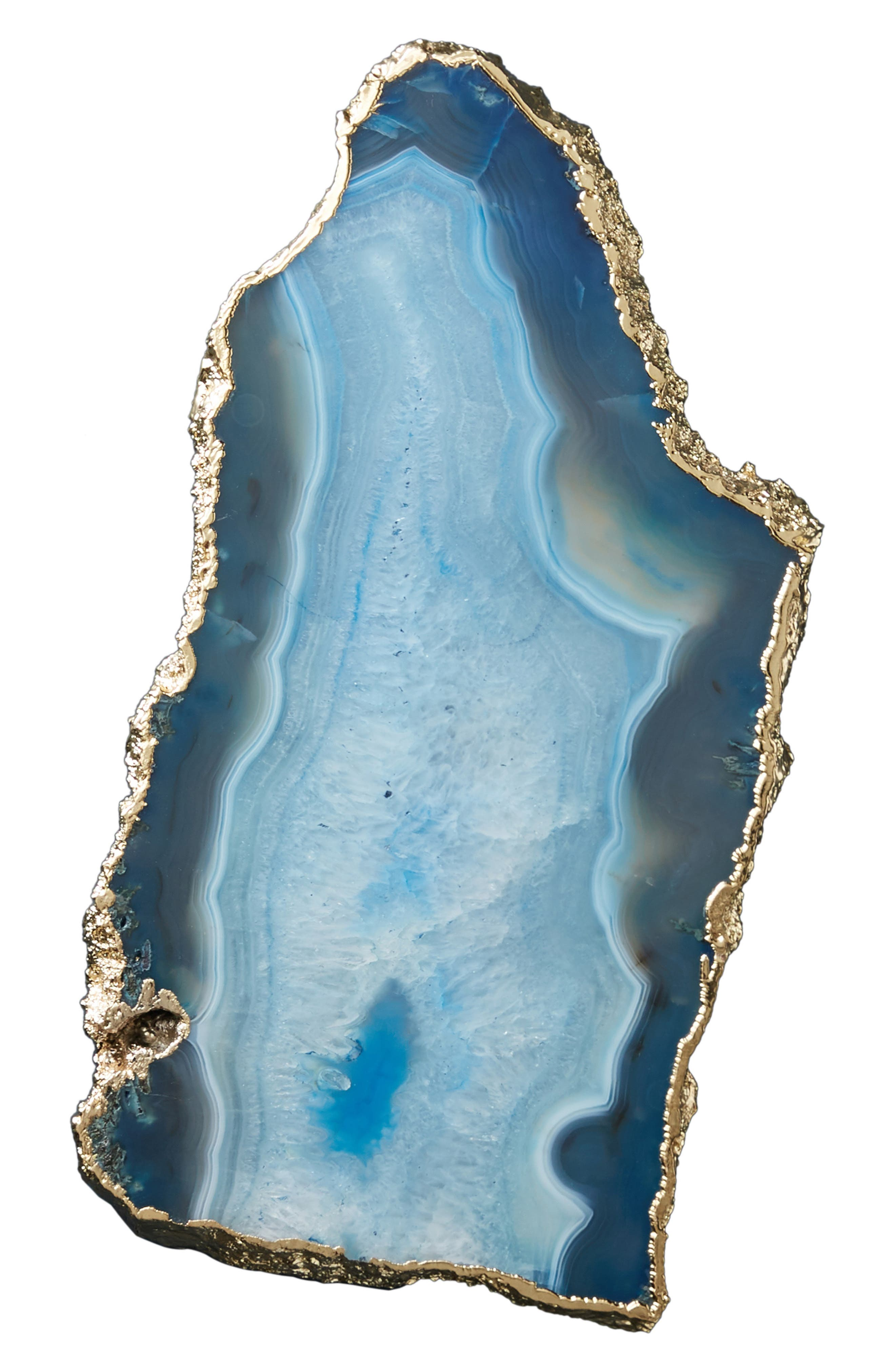 Agate Cheese Board,                             Alternate thumbnail 4, color,                             BLUE