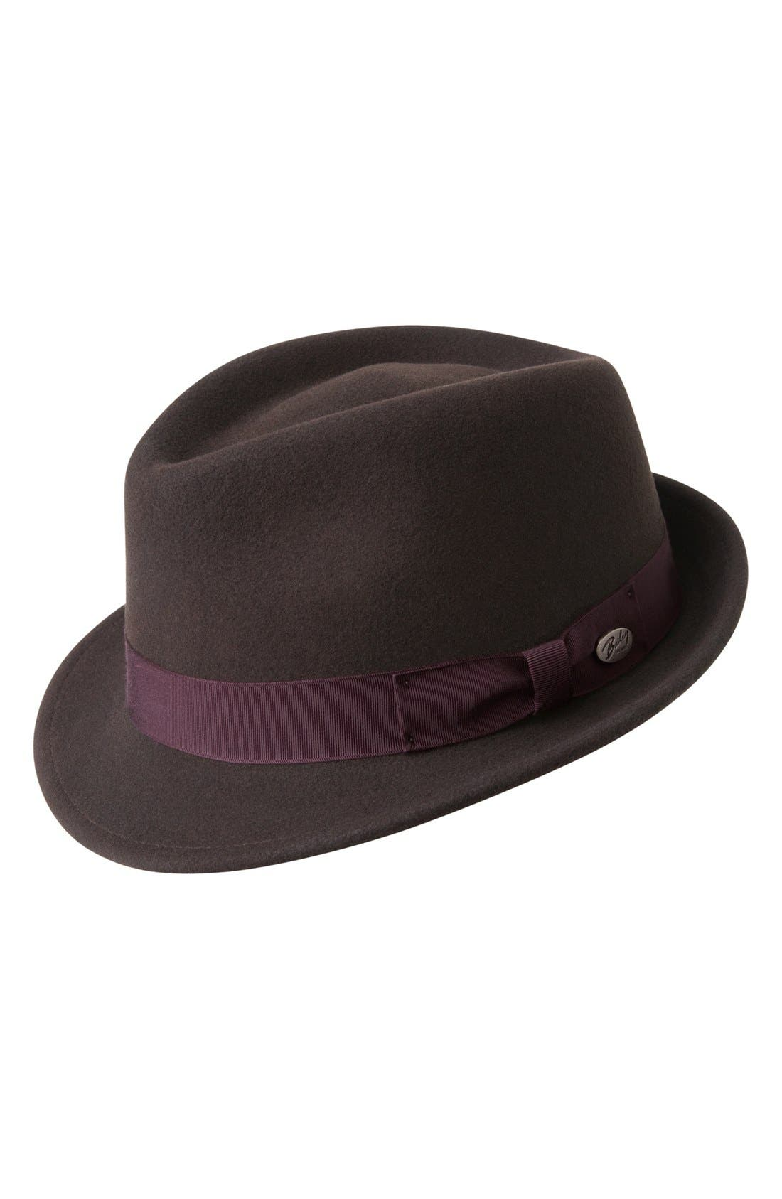 'Wynn' Packable Fedora,                             Main thumbnail 3, color,