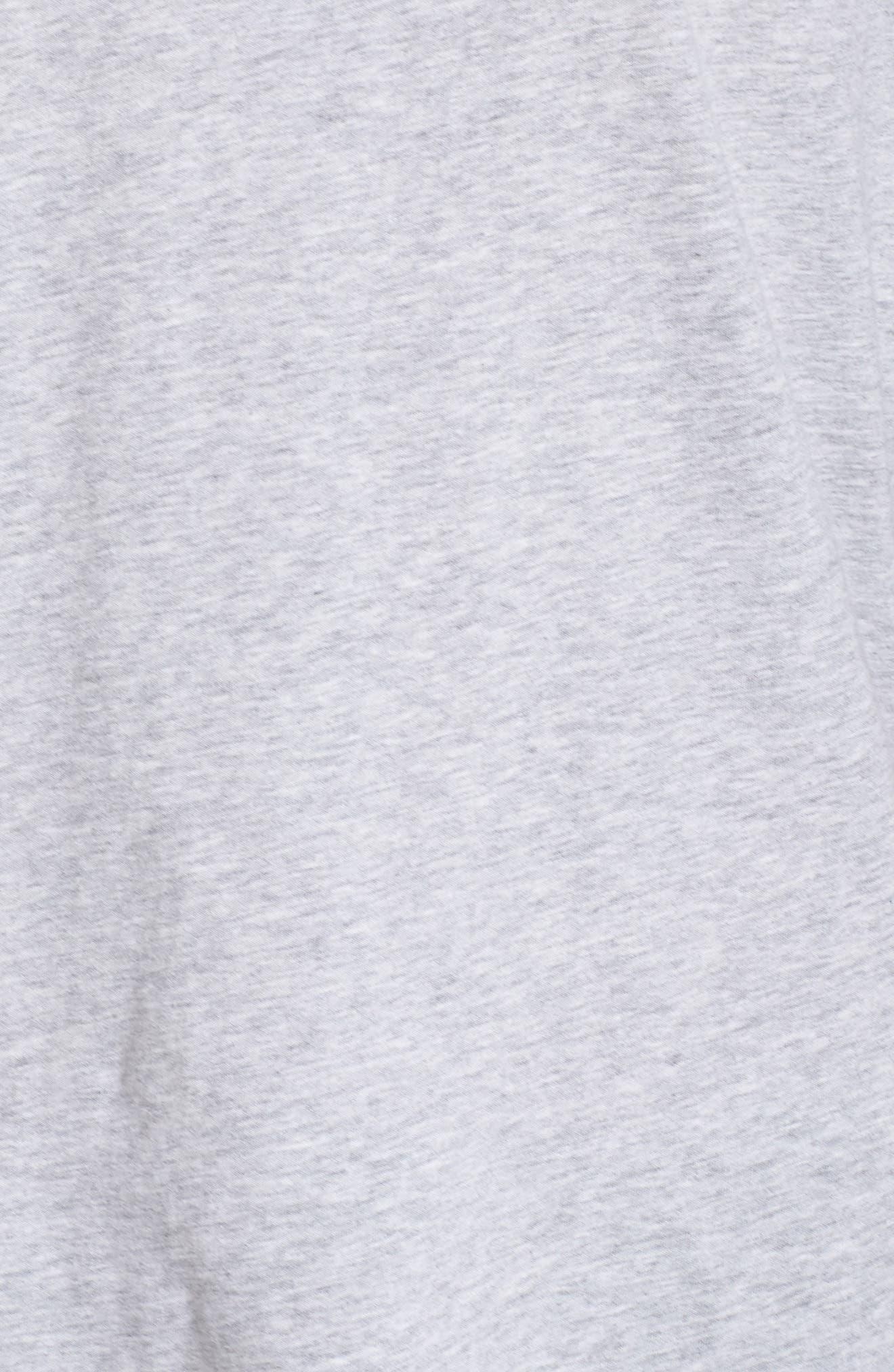 Soph Lounge Shirt,                             Alternate thumbnail 5, color,                             SMOKE MARLE