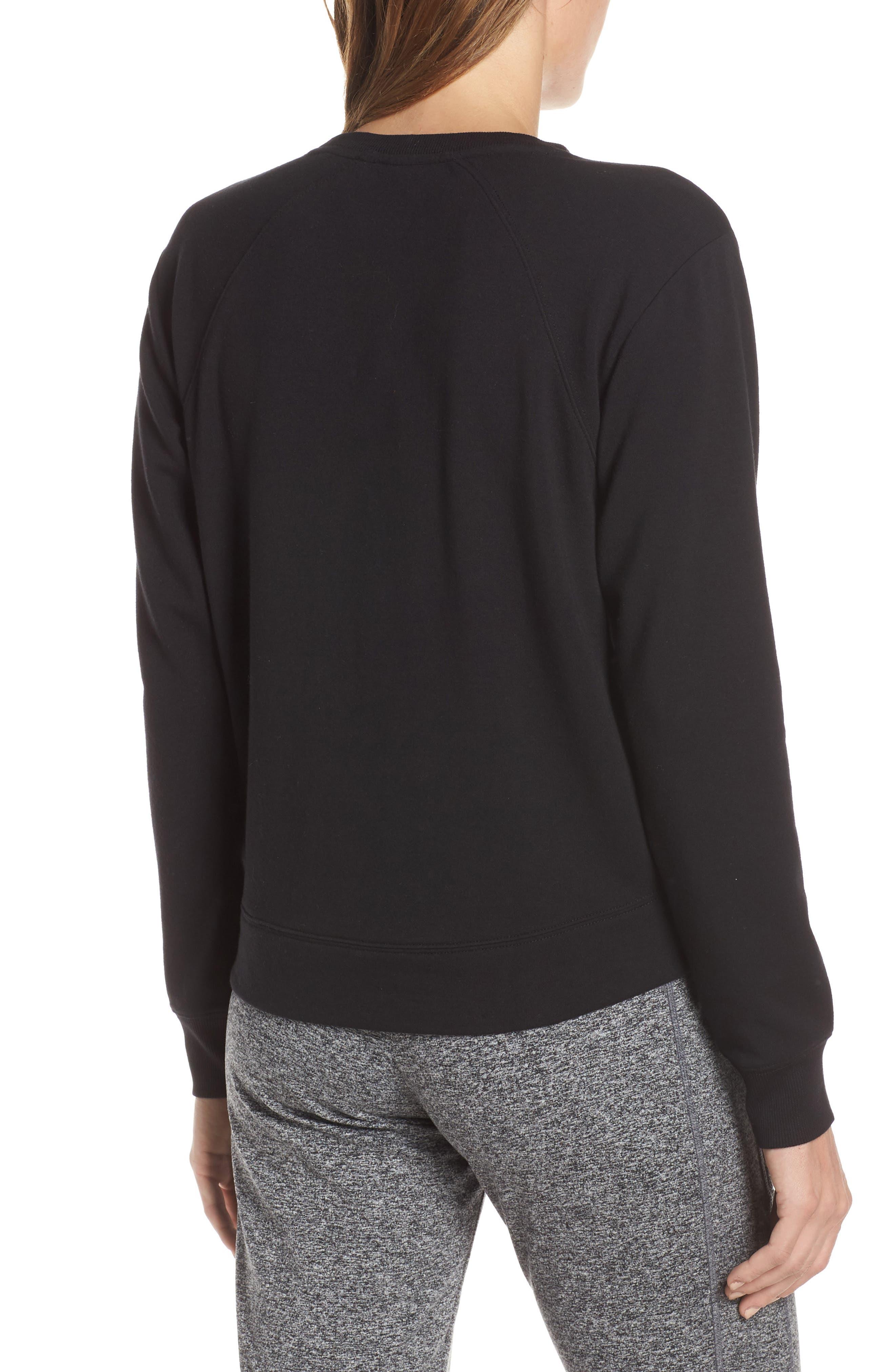 Uplifted Sweatshirt,                             Alternate thumbnail 2, color,                             001