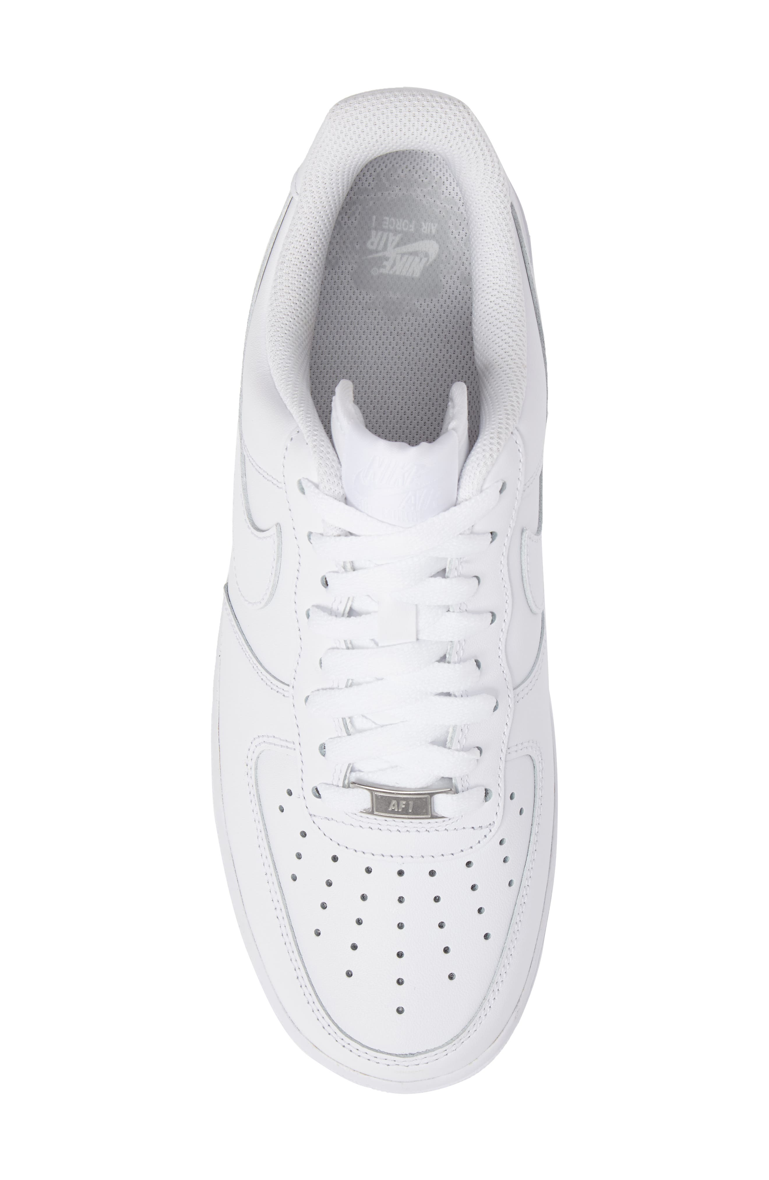 Air Force 1 '07 Sneaker,                             Alternate thumbnail 5, color,                             WHITE/ WHITE