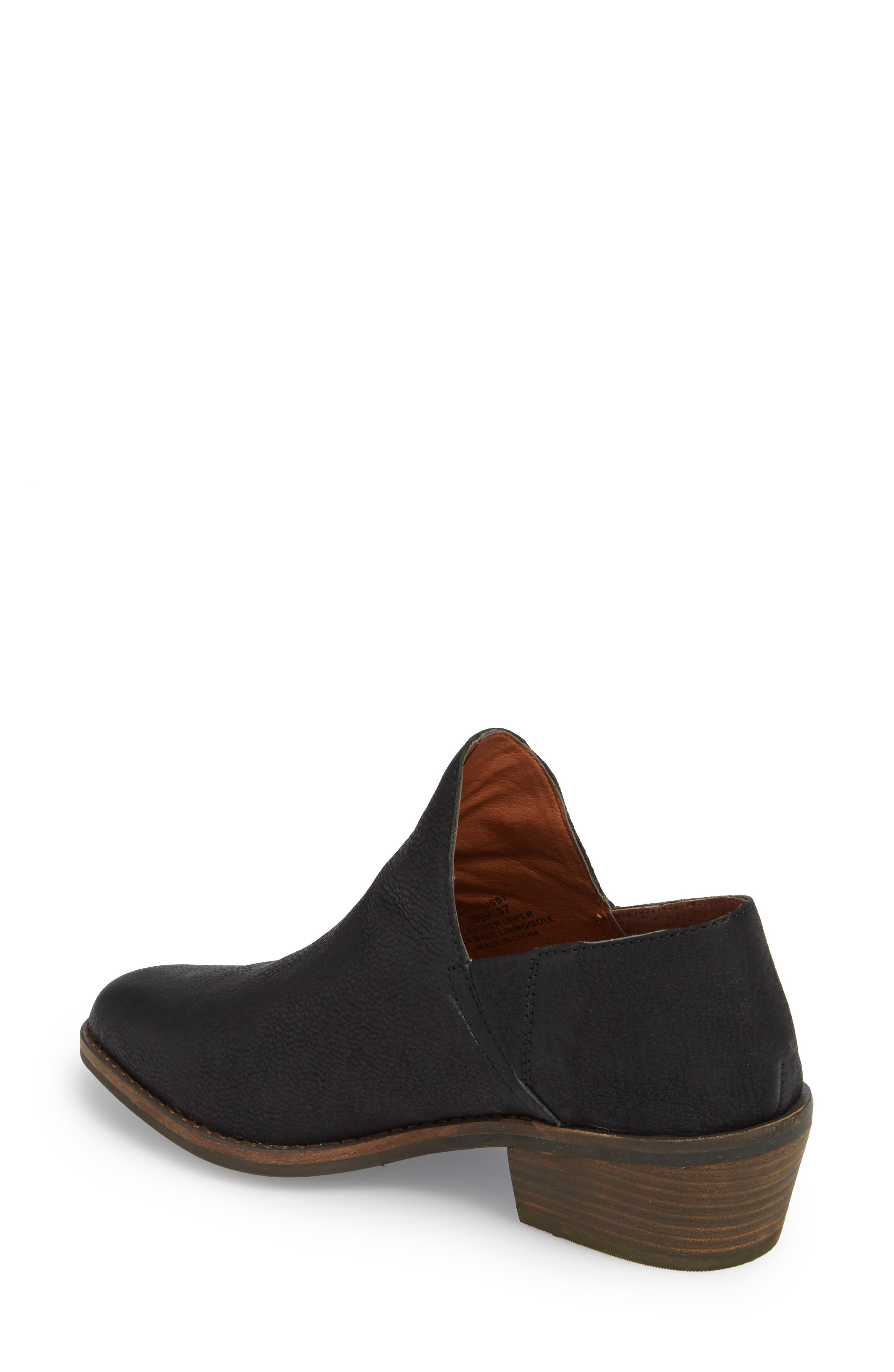 LUCKY BRAND,                             Fausst Bootie,                             Alternate thumbnail 2, color,                             001