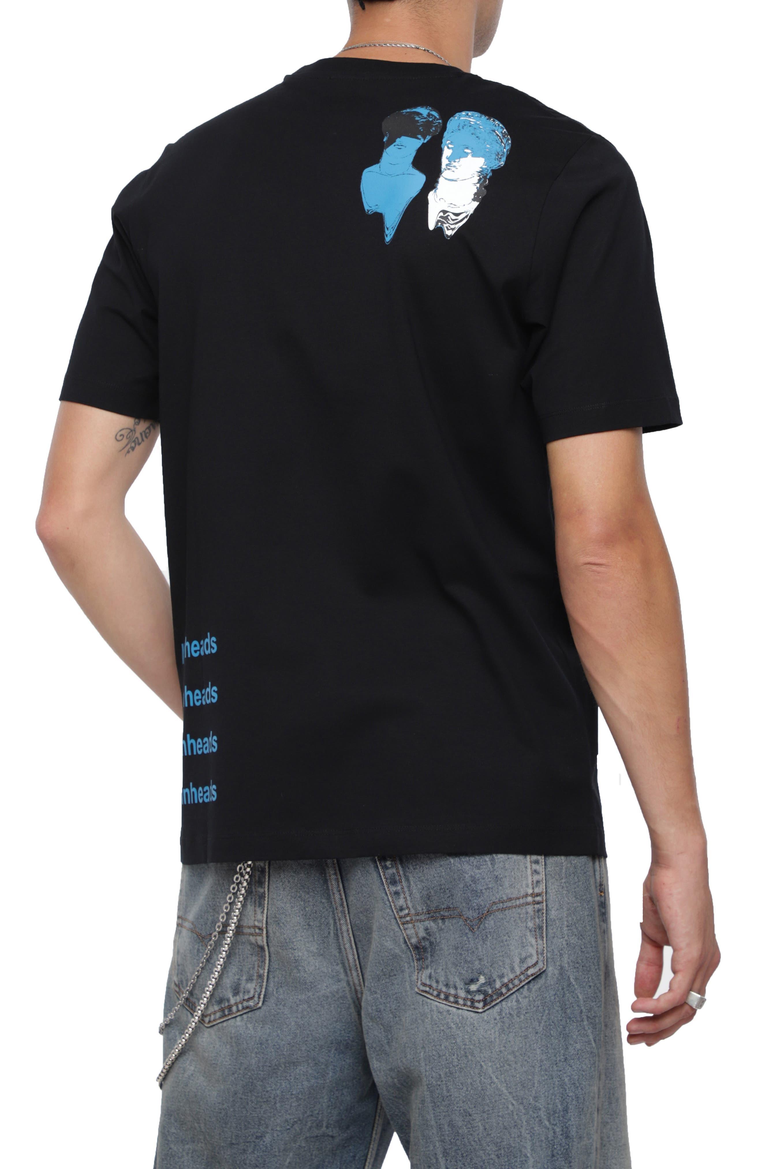 T-JUST-XB T-Shirt,                             Alternate thumbnail 2, color,                             BLACK