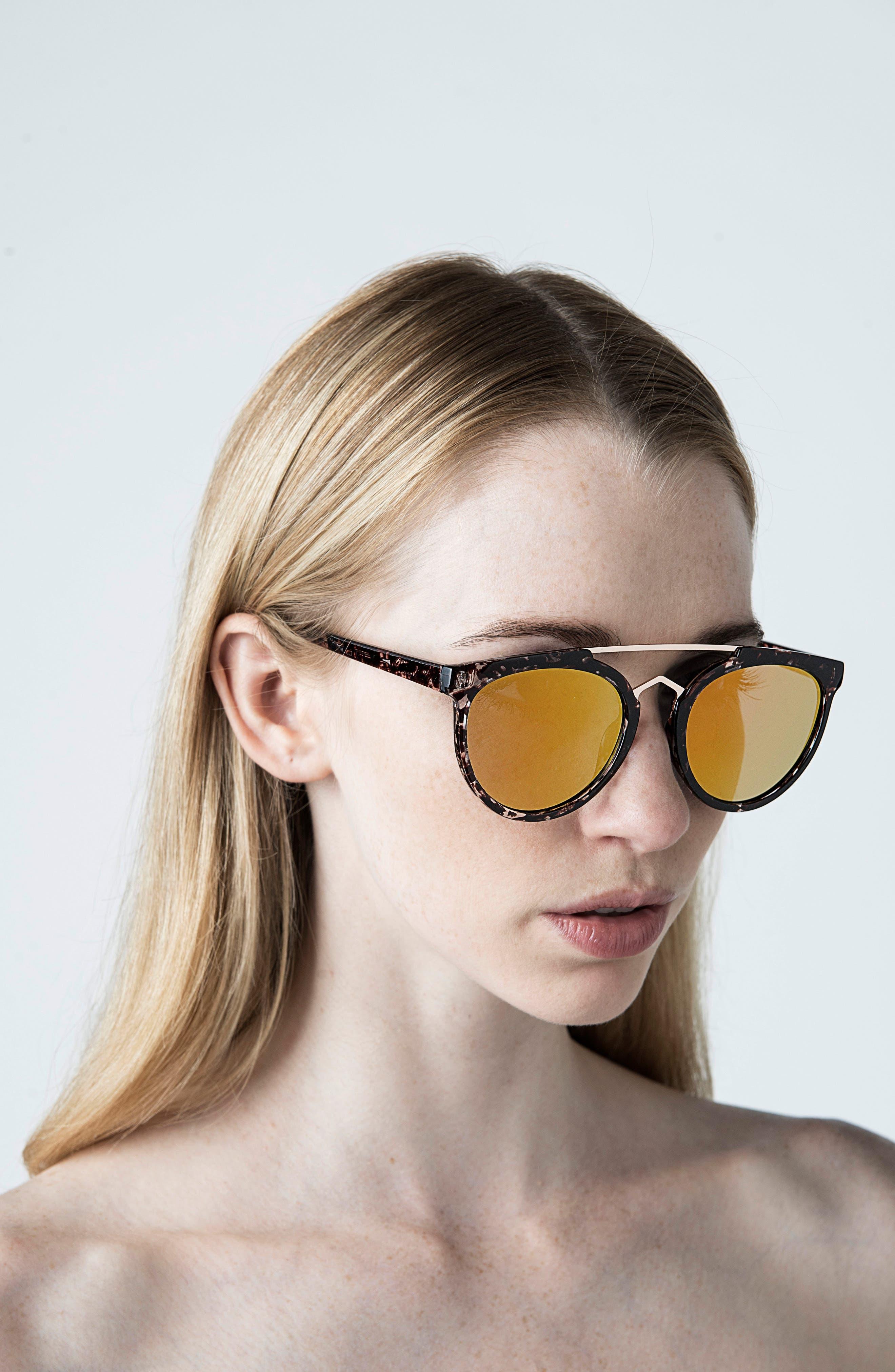 Rose 53mm Retro Sunglasses,                             Alternate thumbnail 11, color,