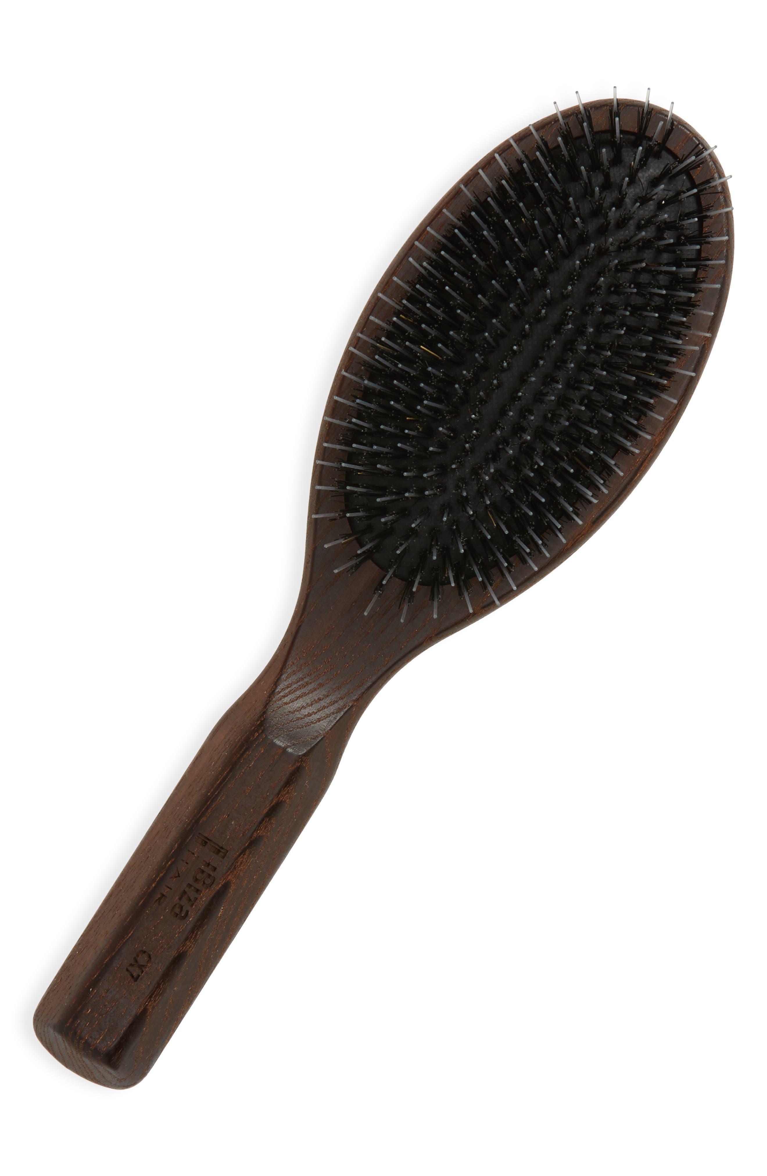 Hair CX7 Oval Handle Brush,                             Main thumbnail 1, color,                             000