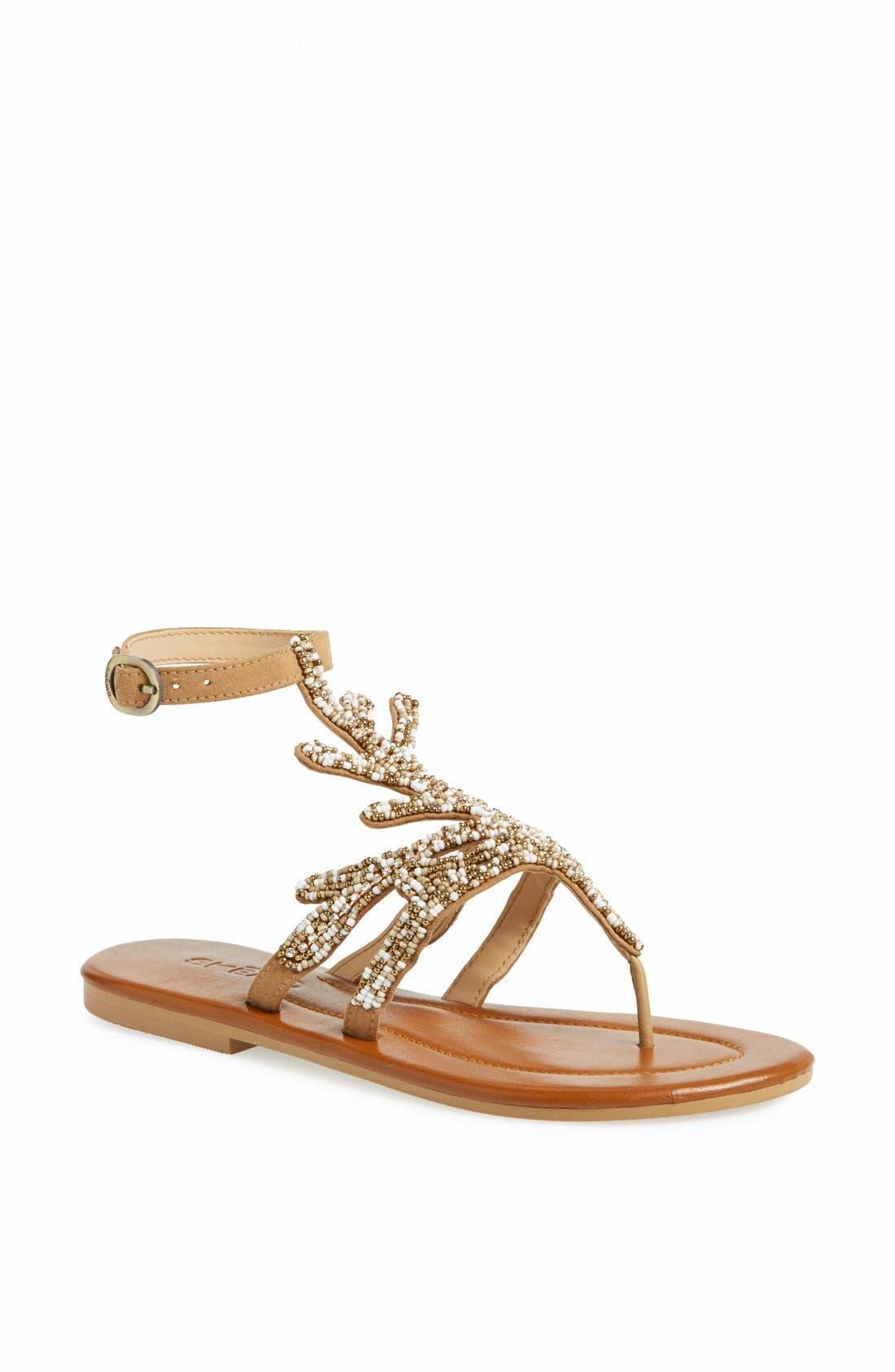 'Java' Sandal, Main, color, 275