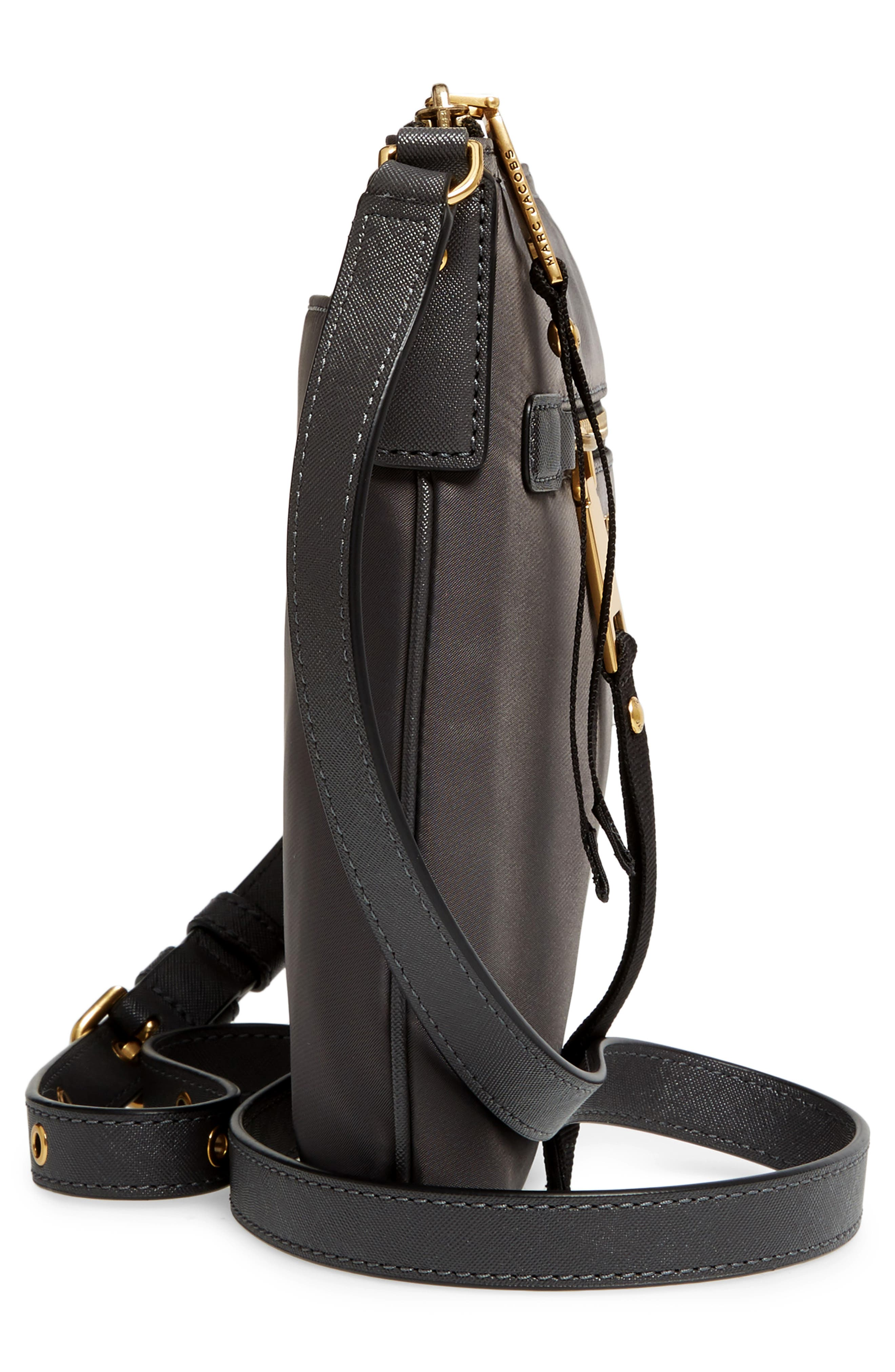 Trooper Nylon Crossbody Bag,                             Alternate thumbnail 5, color,                             022