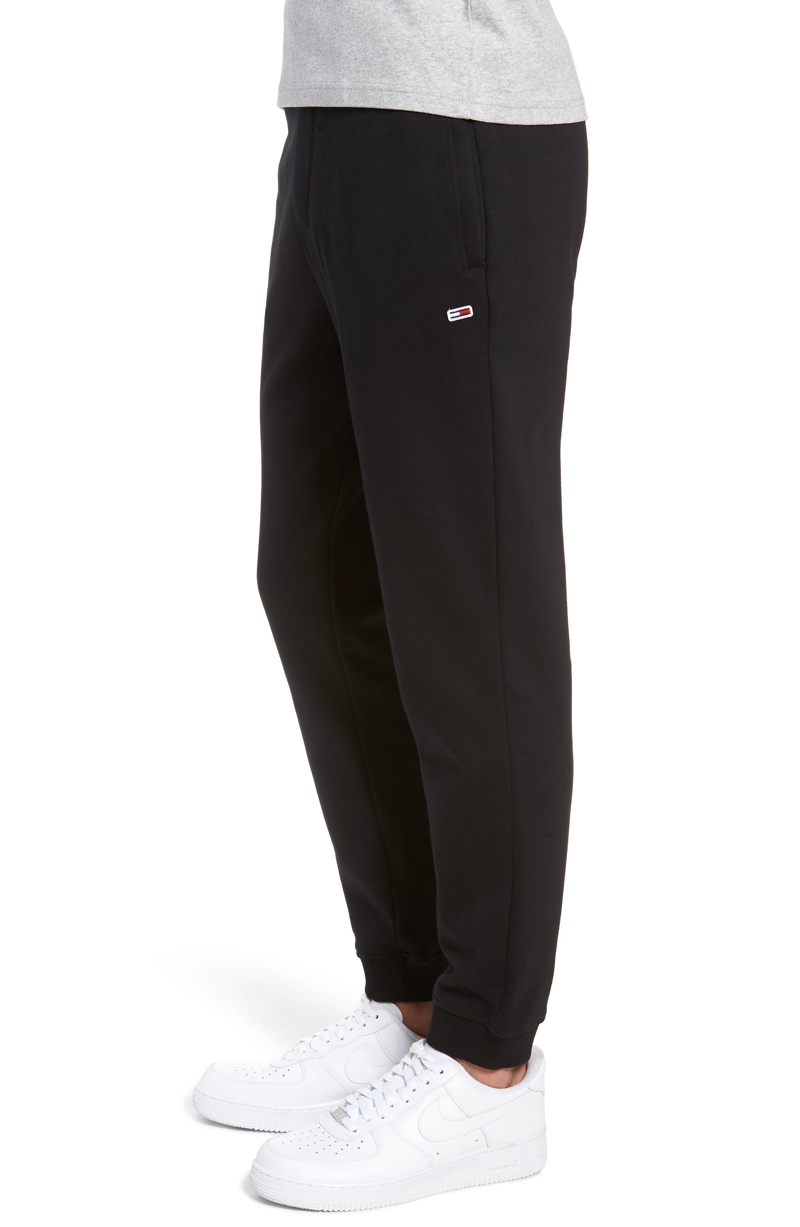 TJM Classics Sweatpants,                             Alternate thumbnail 3, color,                             TOMMY BLACK