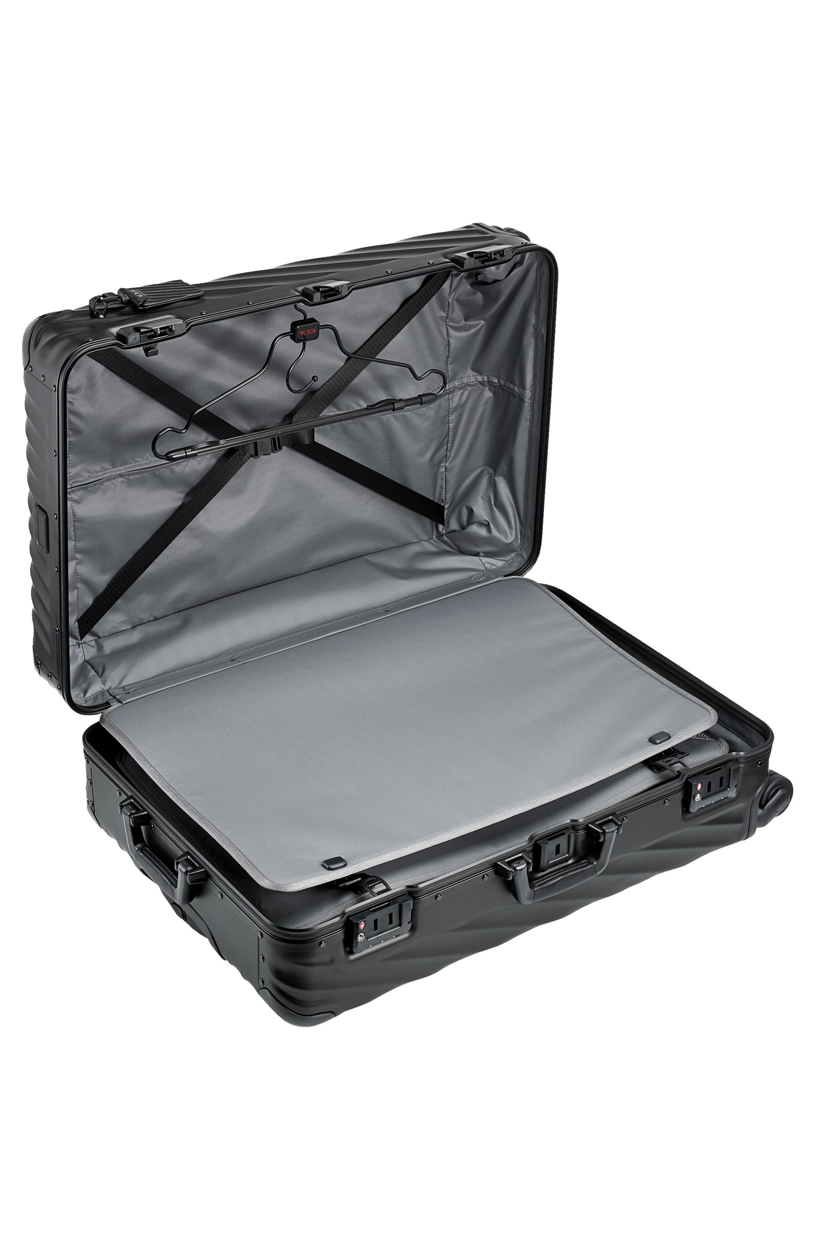 19 Degree 31-Inch Extended Trip Wheeled Aluminum Packing Case,                             Alternate thumbnail 2, color,                             MATTE BLACK