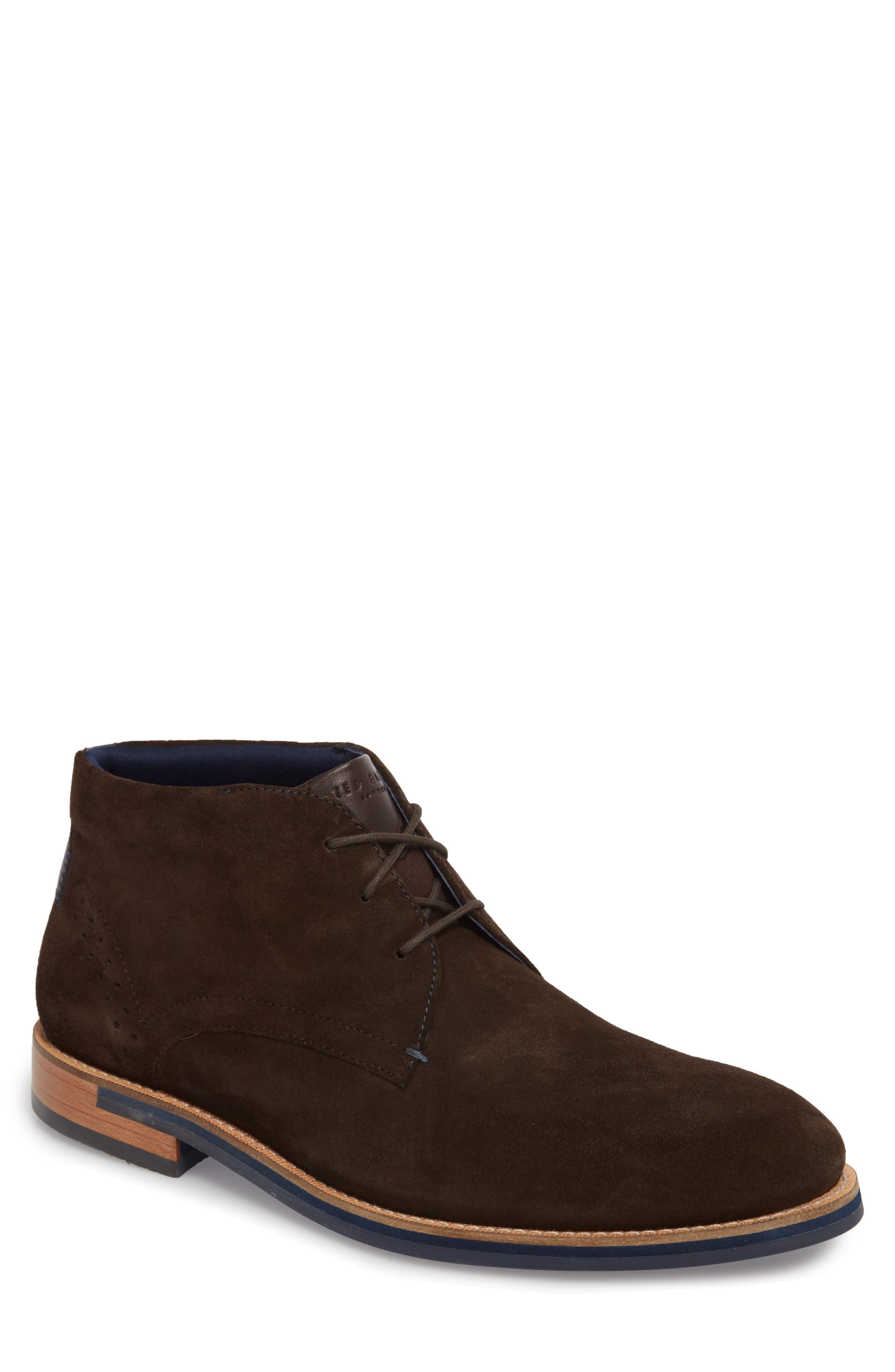 Daiinos Chukka Boot,                         Main,                         color, BROWN SUEDE