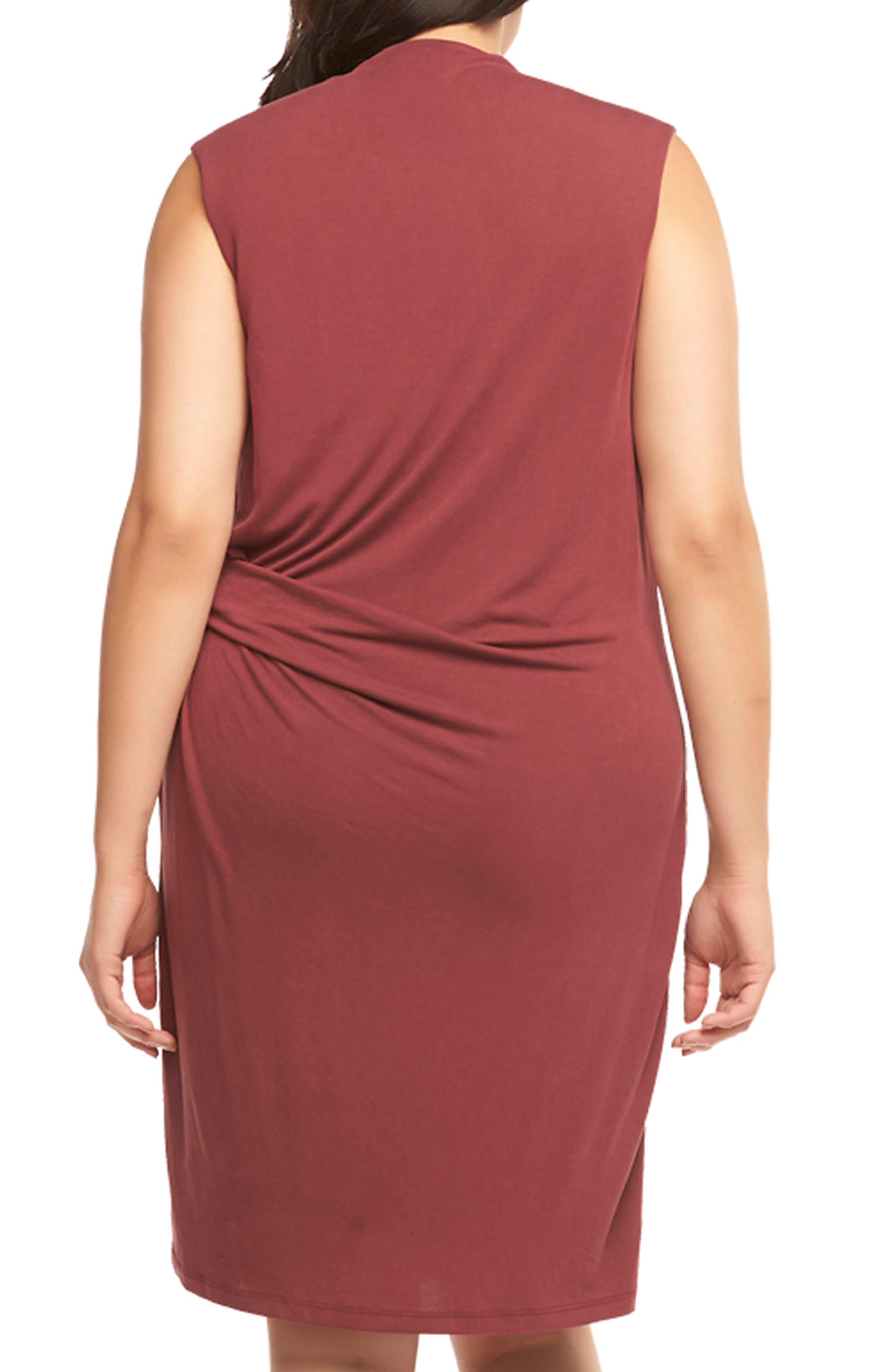 Annetta Ruched Sheath Dress,                             Alternate thumbnail 4, color,