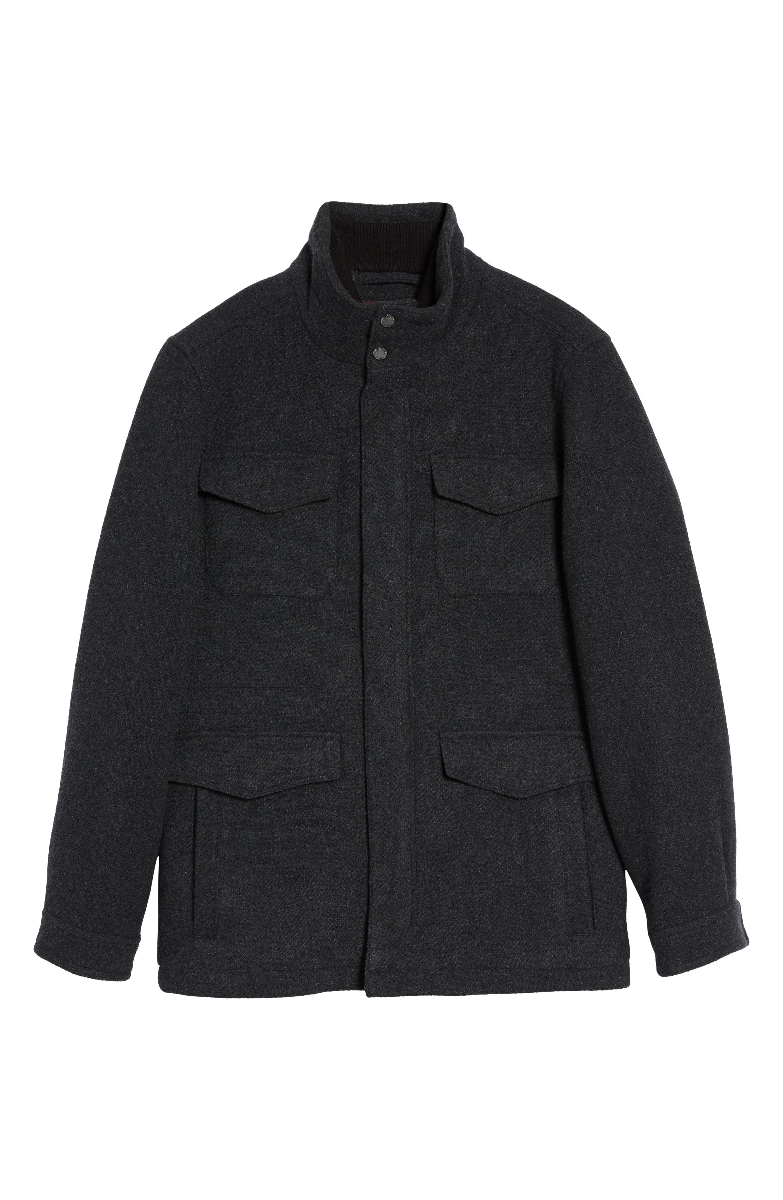 Regular Fit Double Layer Field Jacket,                             Alternate thumbnail 19, color,