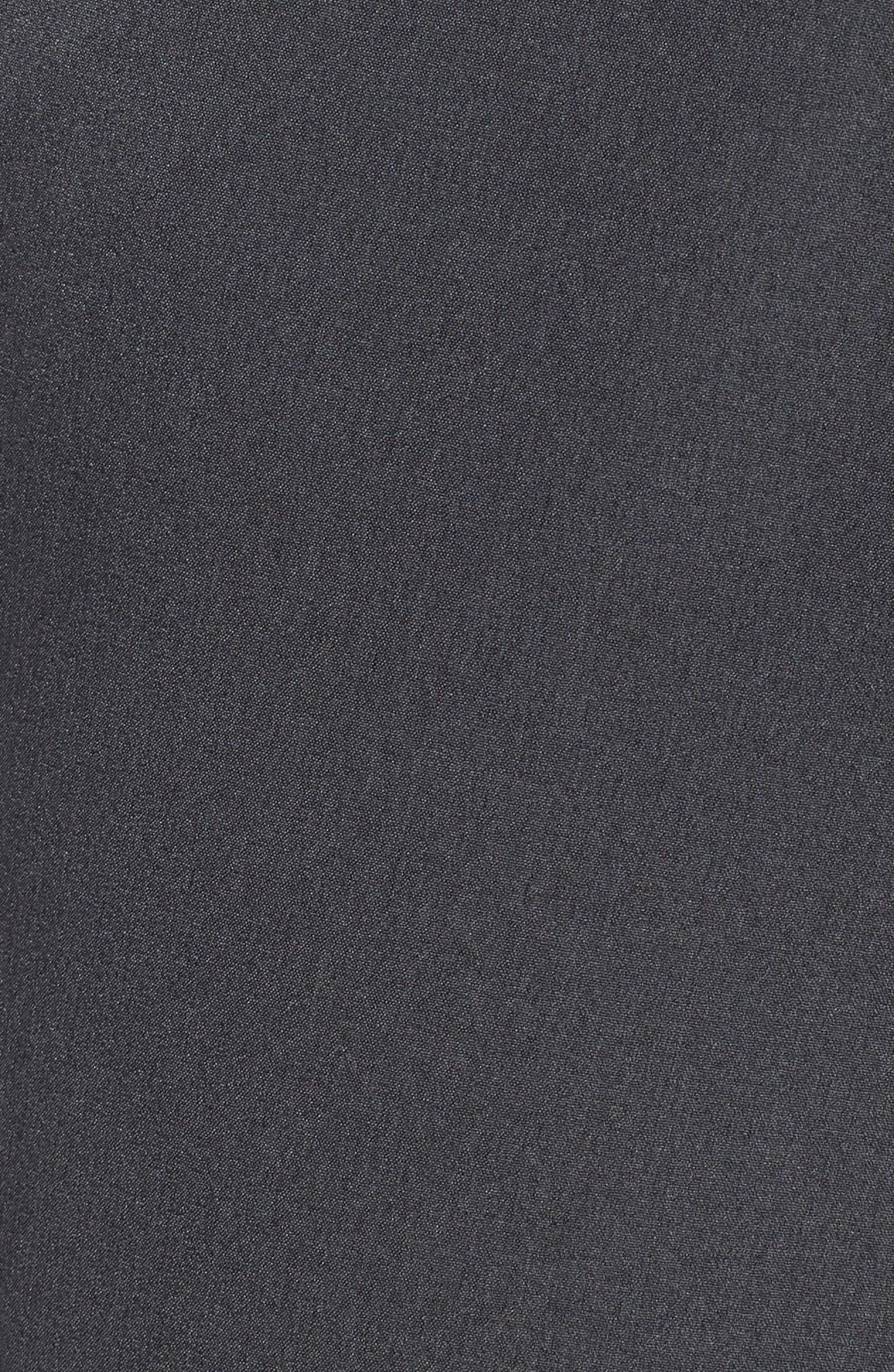Hybrid Flex Golf Pants,                             Alternate thumbnail 5, color,                             CHARCOAL HEATHER/ DARK GREY