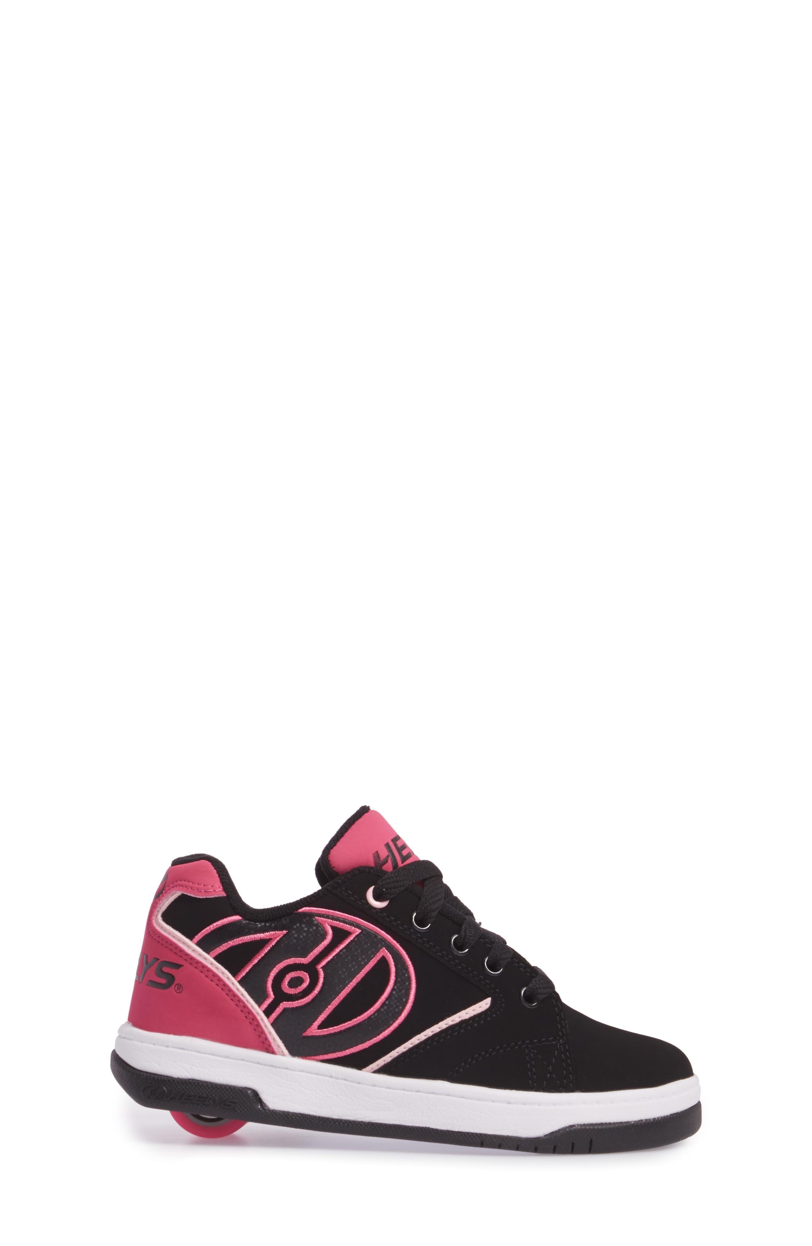 Propel 2.0 Sneaker,                             Alternate thumbnail 3, color,                             BLACK/ PINK/ WHITE