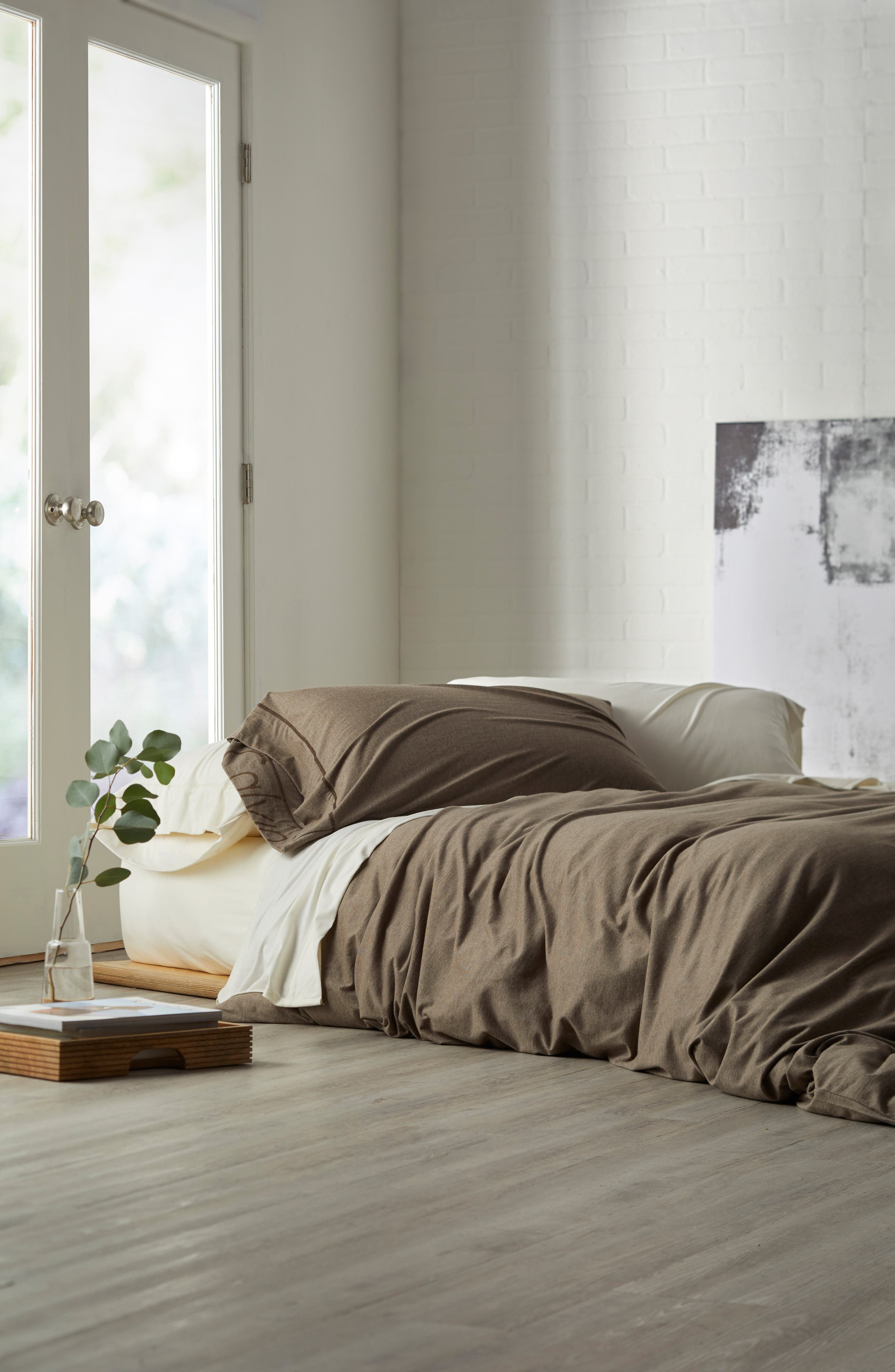 Cotton & Modal Jersey Pillowcases,                             Main thumbnail 3, color,