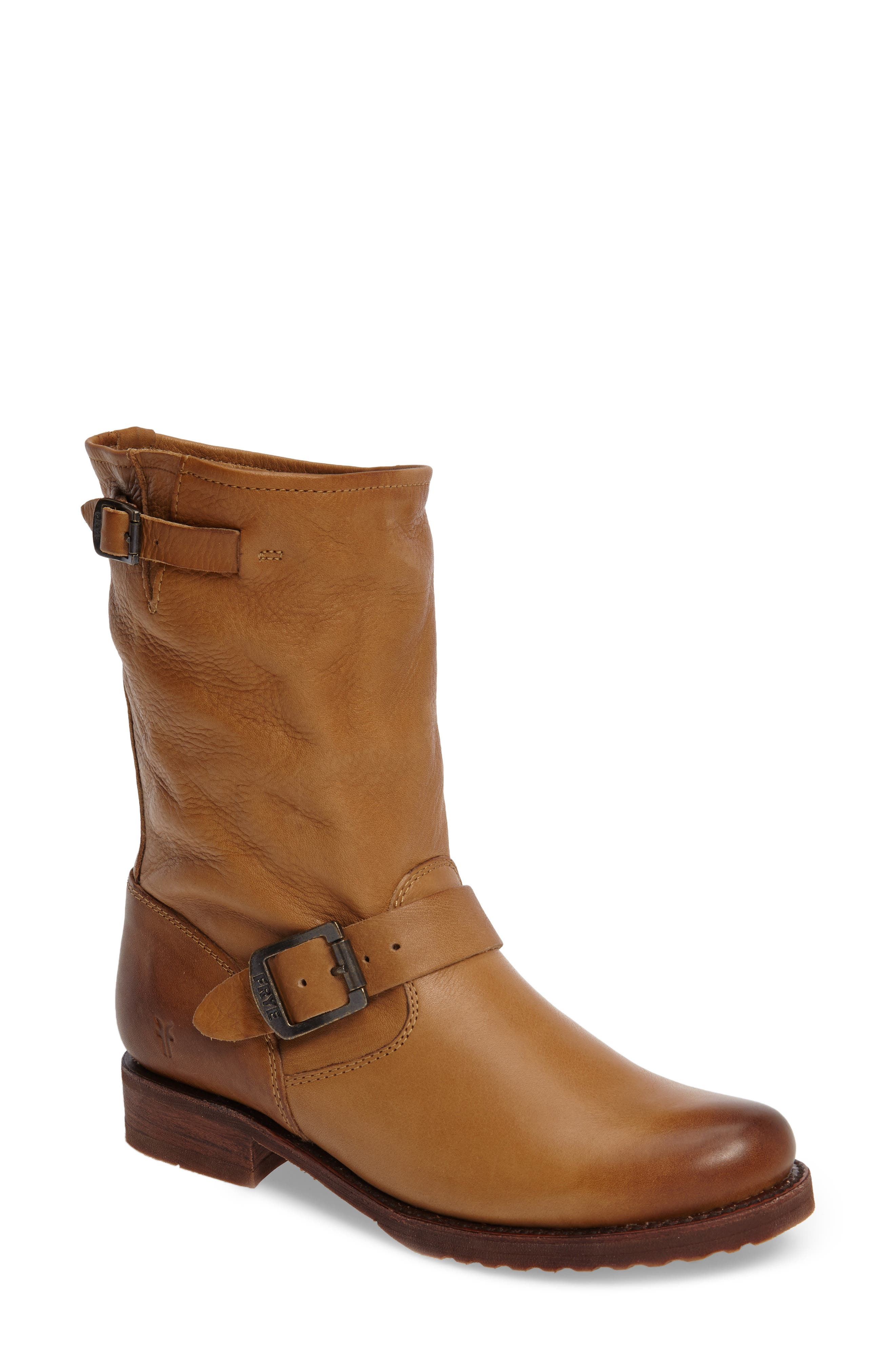 'Veronica Short' Slouchy Boot,                             Alternate thumbnail 19, color,