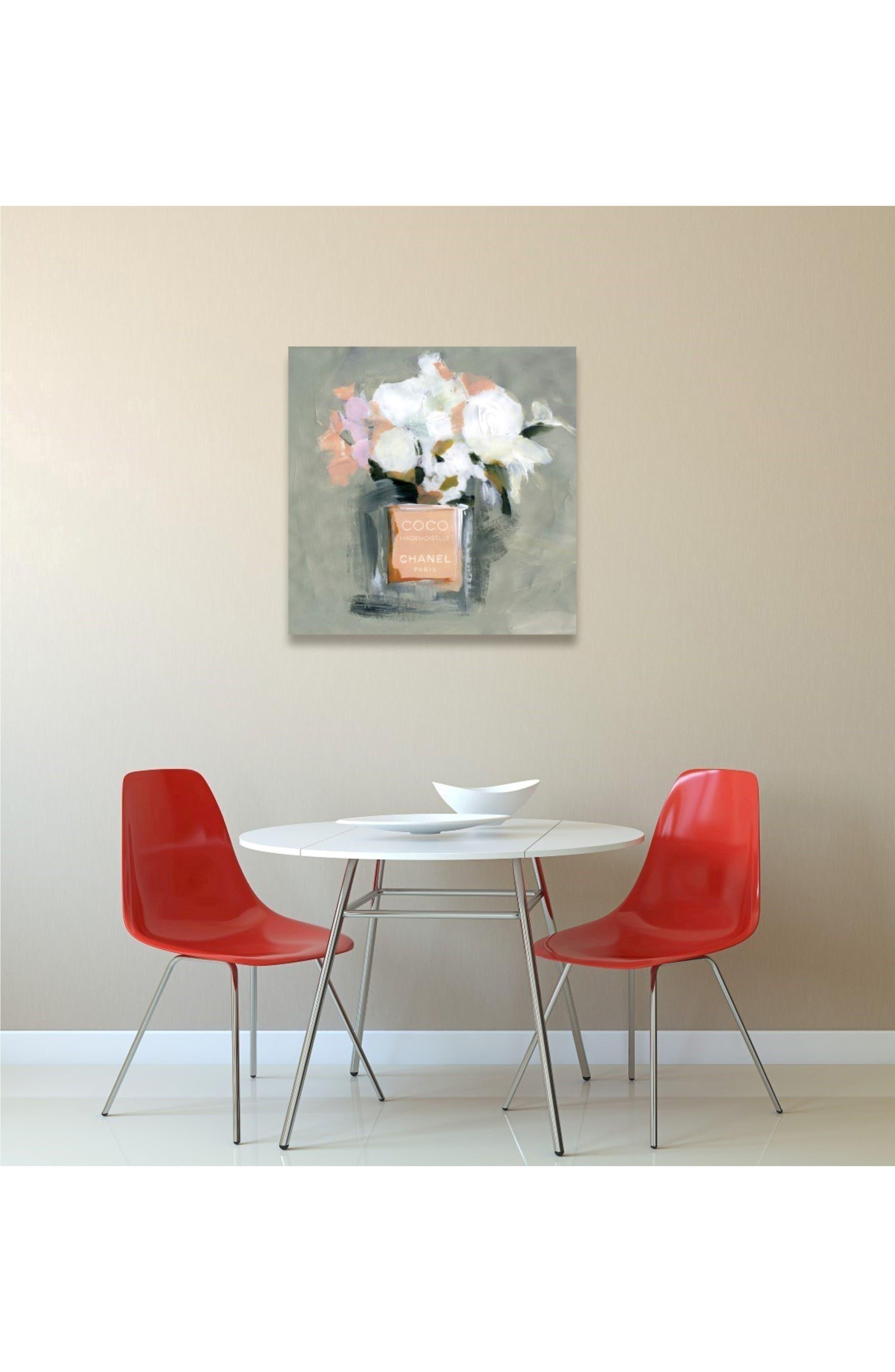 L'Eau de Rose Canvas Wall Art,                             Alternate thumbnail 2, color,                             020