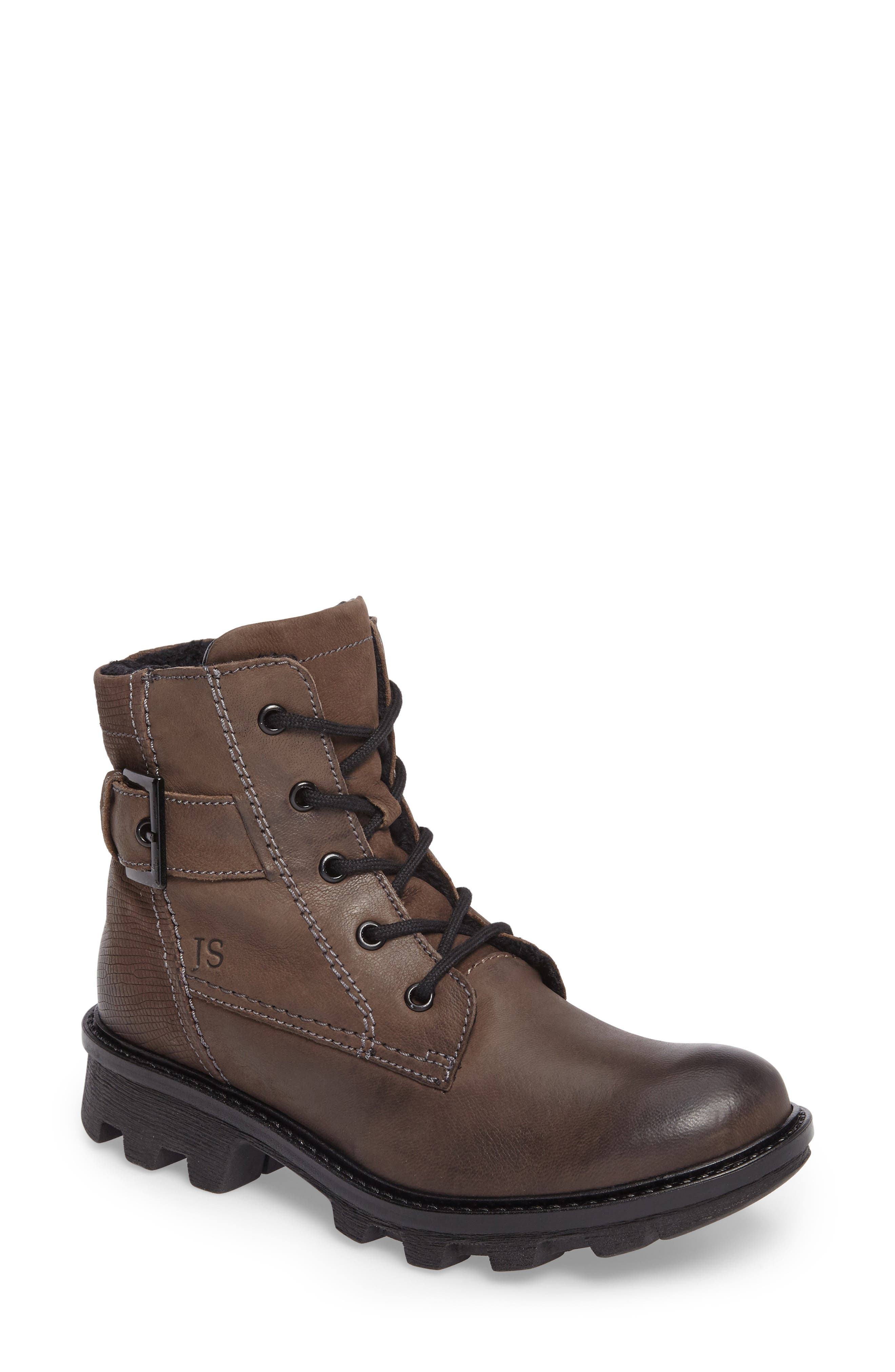 Marilyn Boot,                             Main thumbnail 1, color,                             ANTHRACITE LEATHER