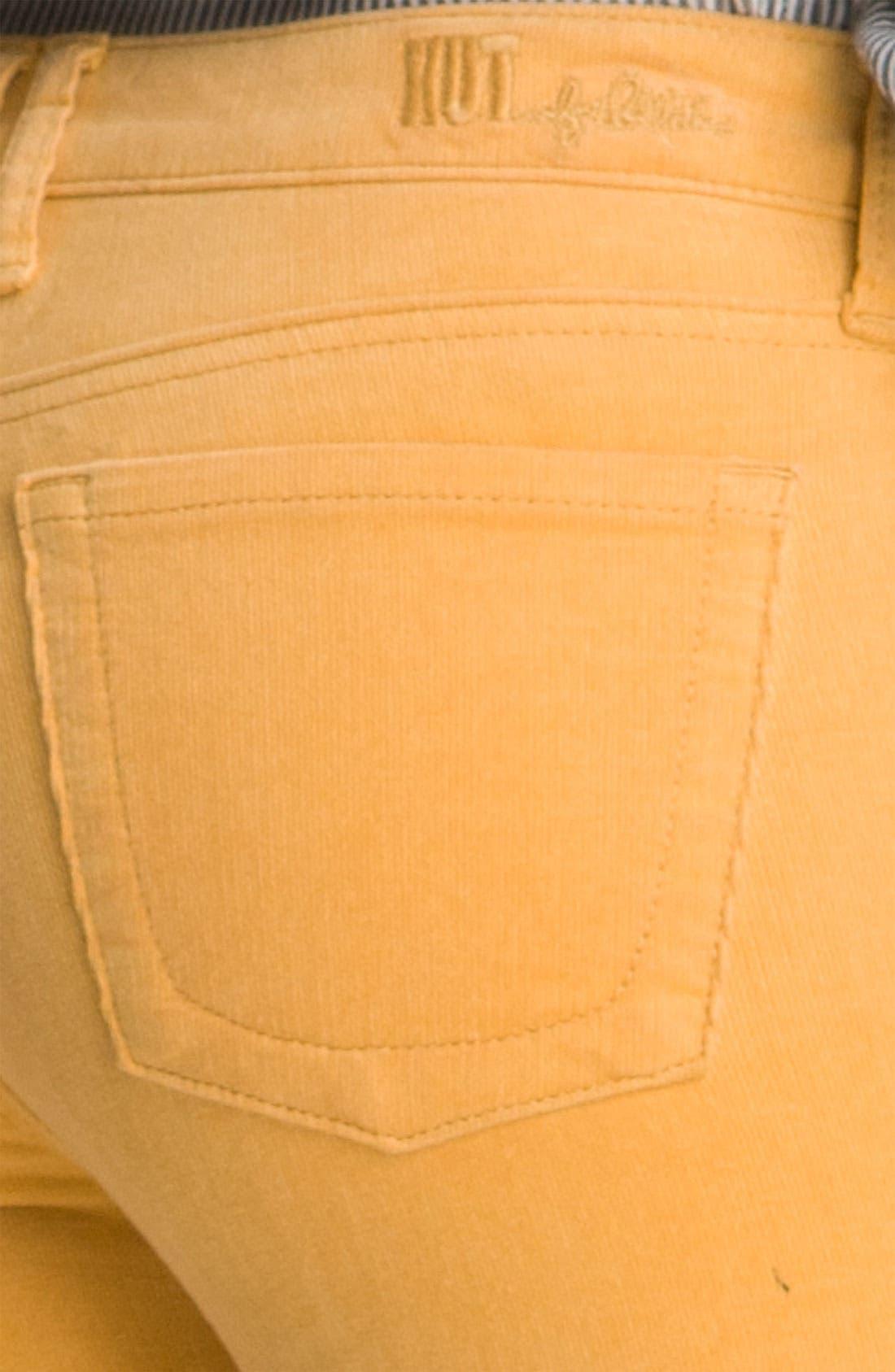 'Diana' Stretch Corduroy Skinny Pants,                             Alternate thumbnail 99, color,
